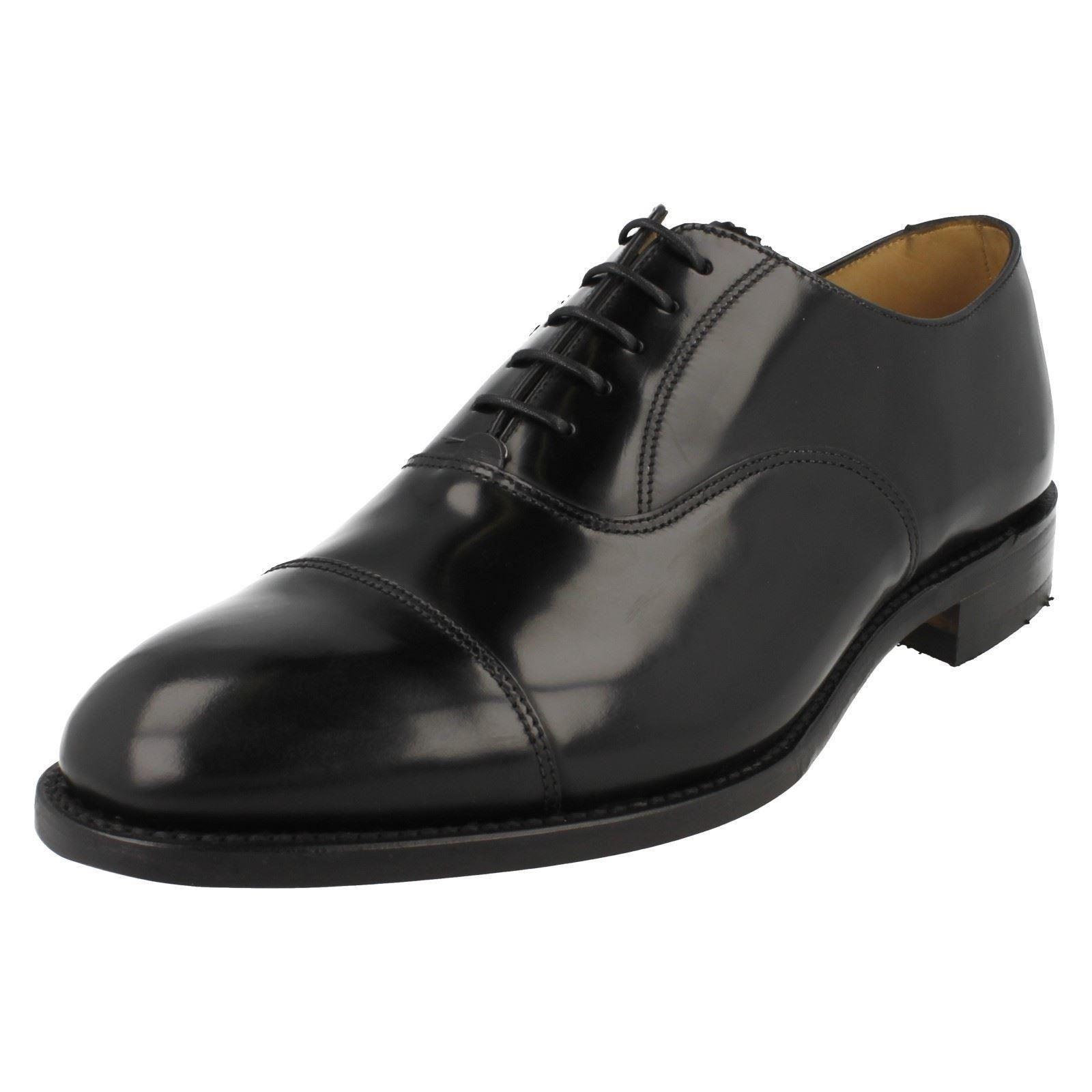 Mens Loake schwarz Style Formal Schuhes Style schwarz - 747B 8b01df