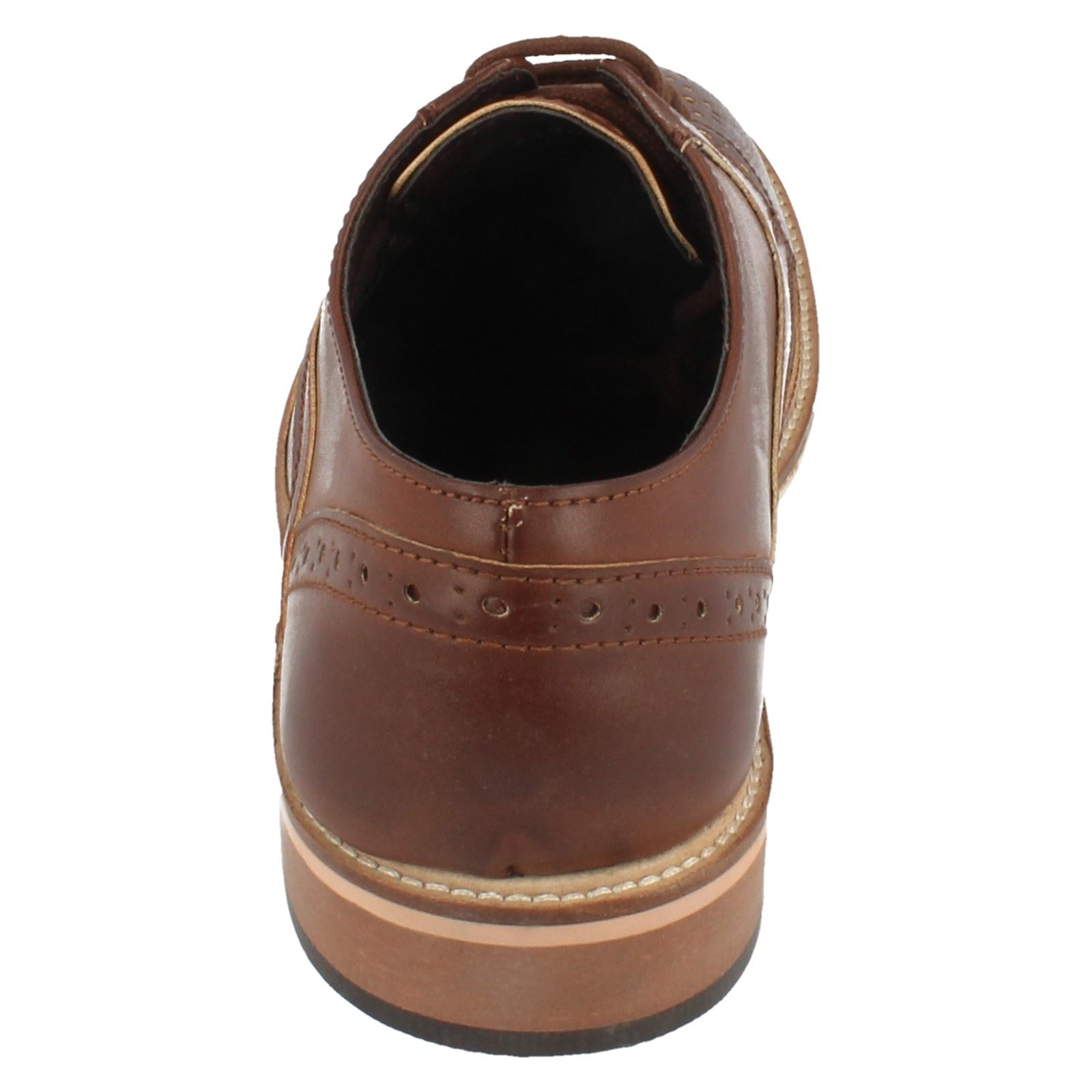 Mens Lambretta Brogue Lace Up Shoe The Style 21004 ~ N