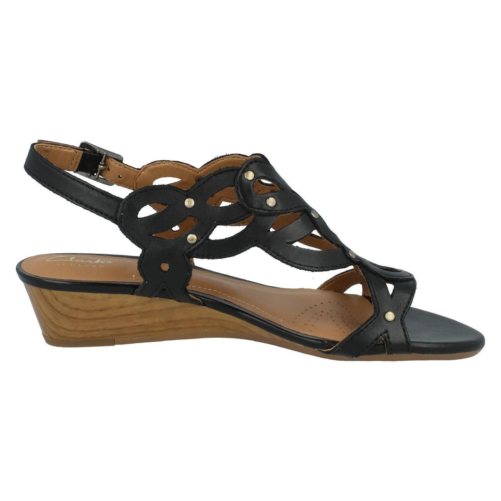 Black Sandal Shoes Buckle