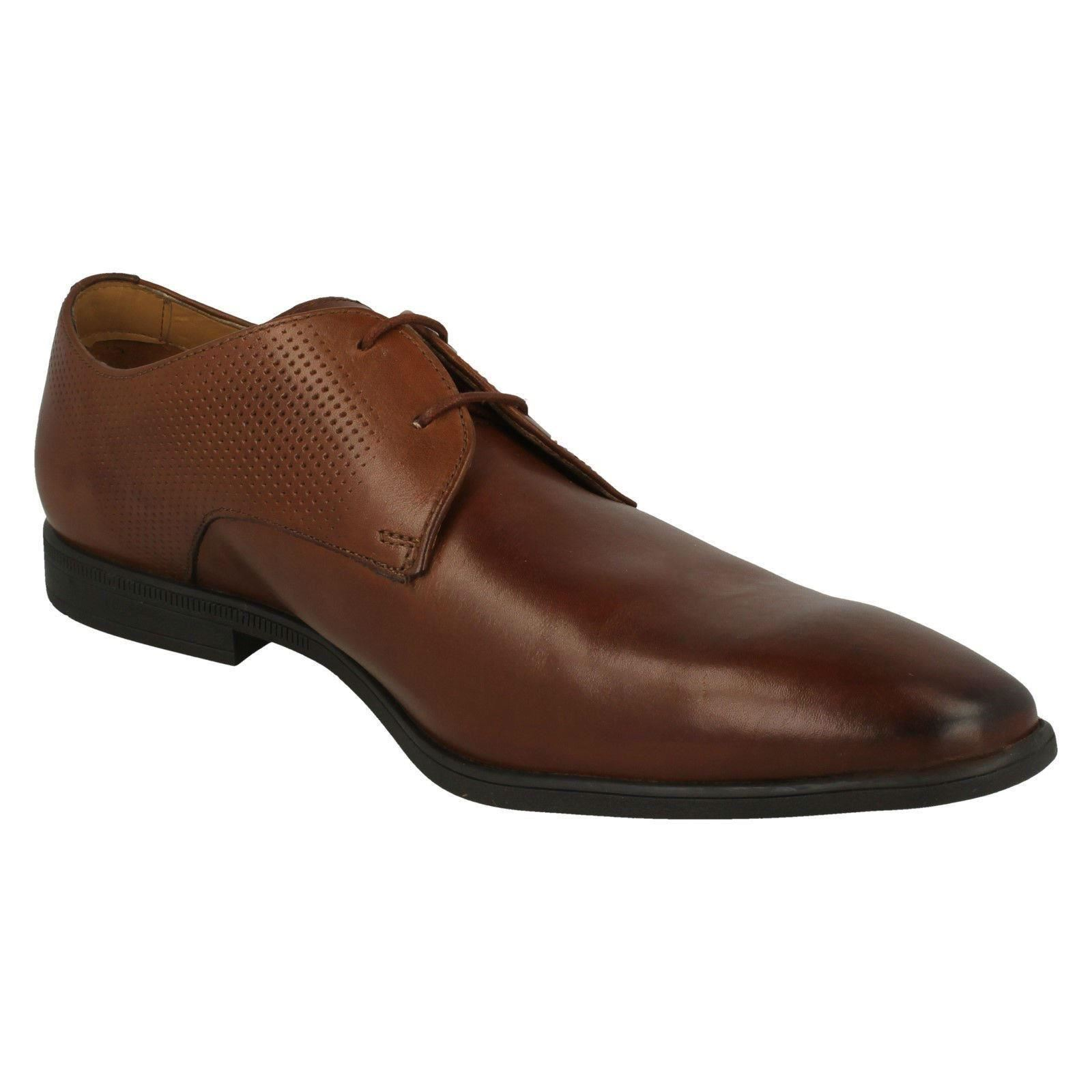 Herren  Herren  Clarks Leder Lace Up Formal Smart Schuhes Style - Bampton Walk a2a5f8