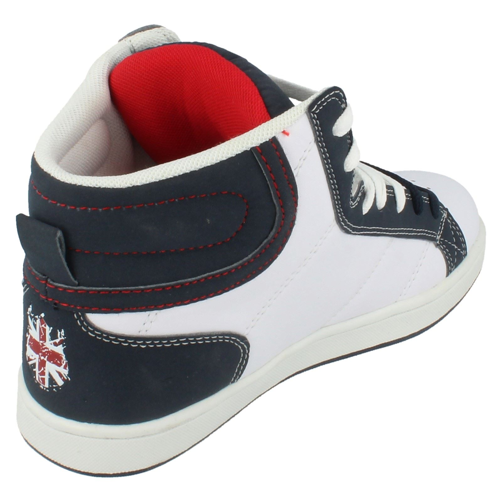 Boys Mercury Hi-Top Trainers - The Style Torch - 08015 ~ N