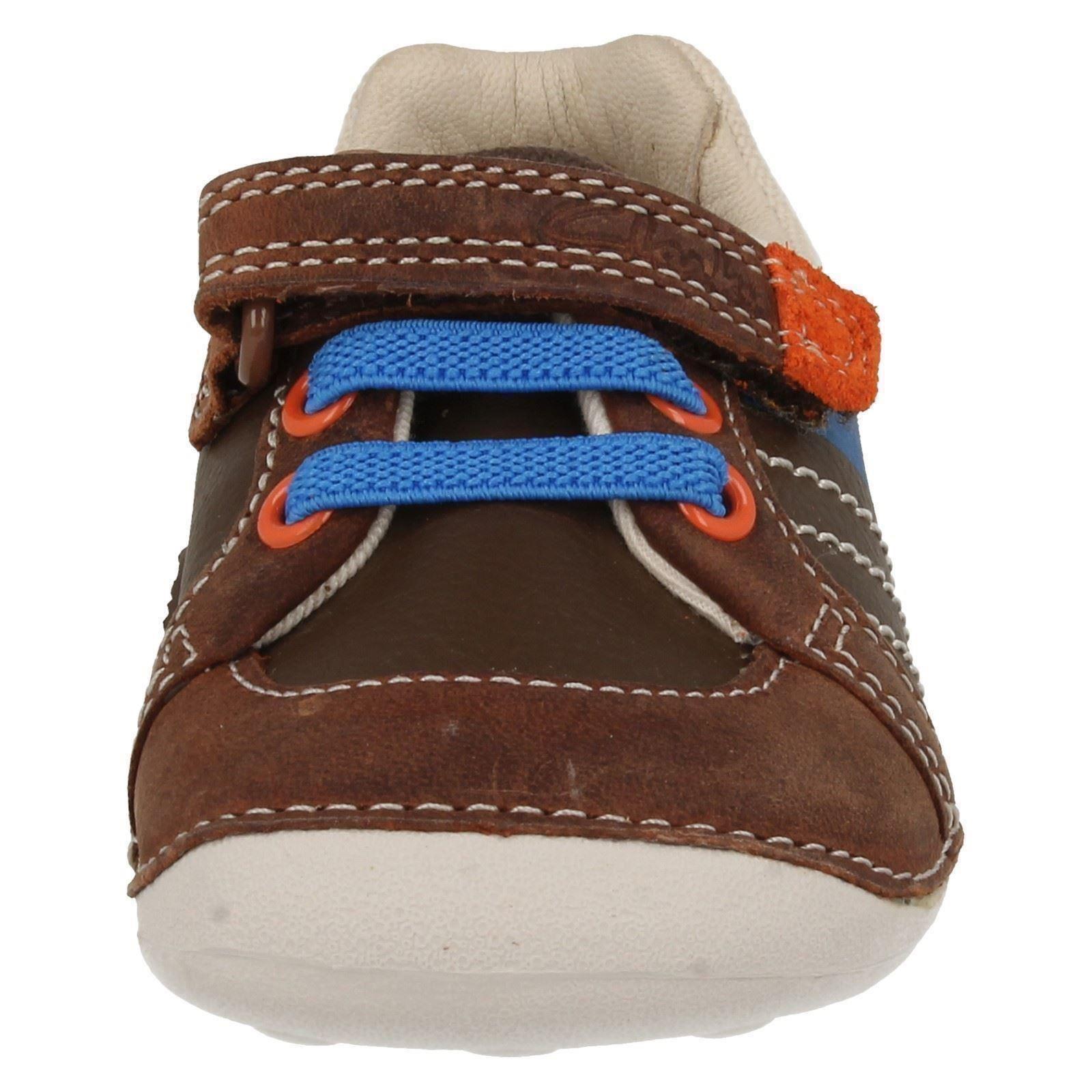 Boys Clarks Infant Shoes Label - Tiny Myle