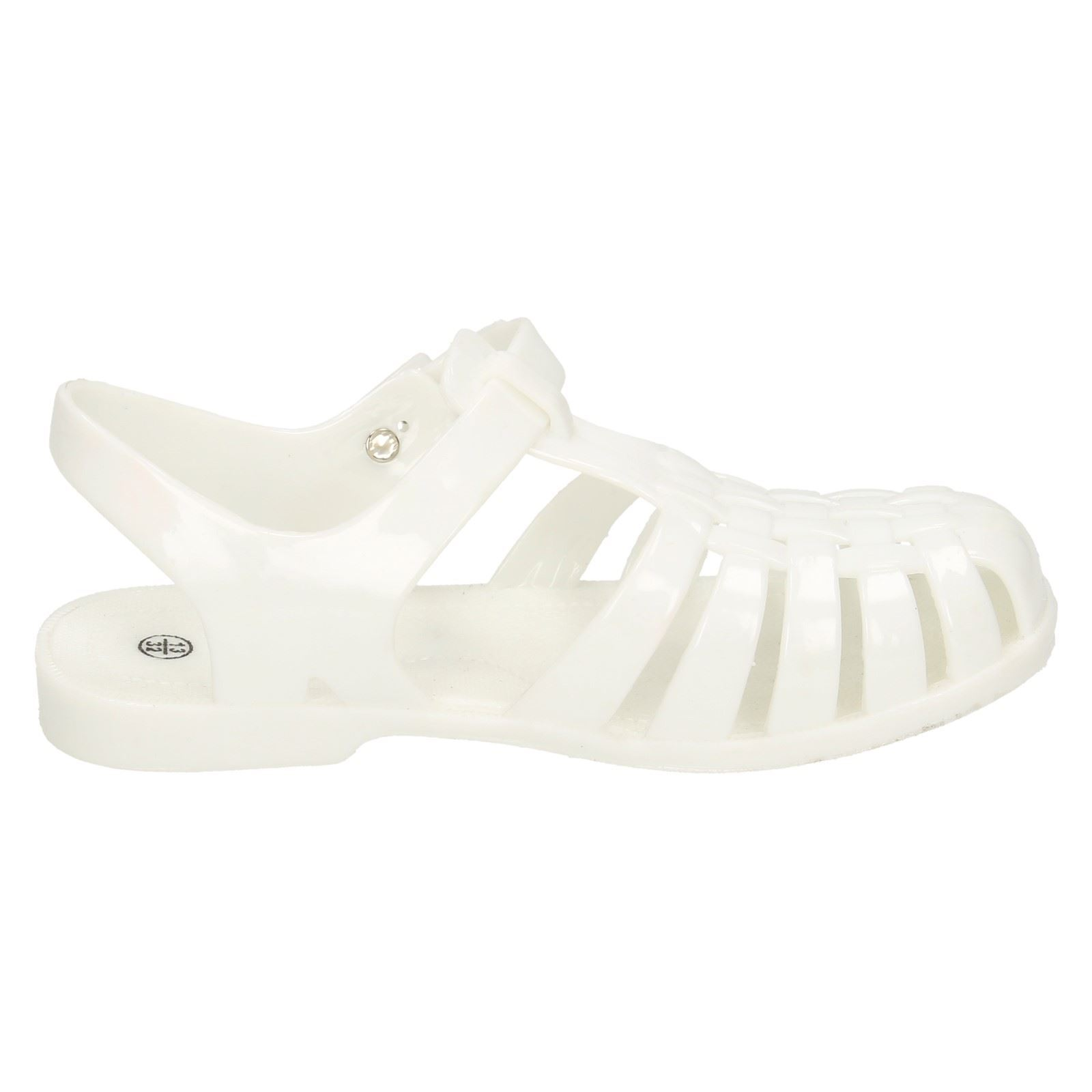 Girls Spot On Jelly Sandals H2309 - D