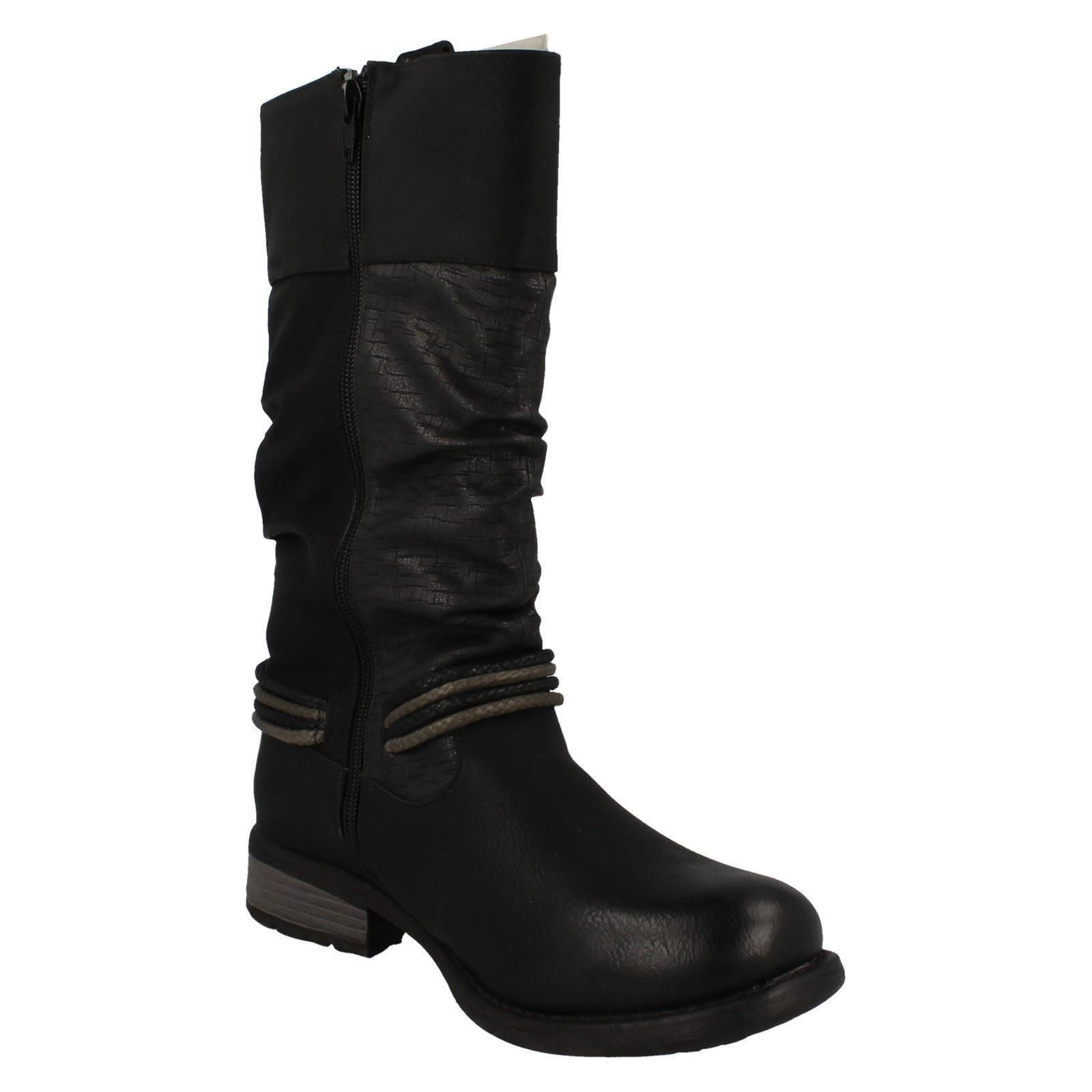 Gentlemen/Ladies Ladies Rieker Boots Label 97279 Comfortable feeling quality stable quality feeling cheaper abe40f