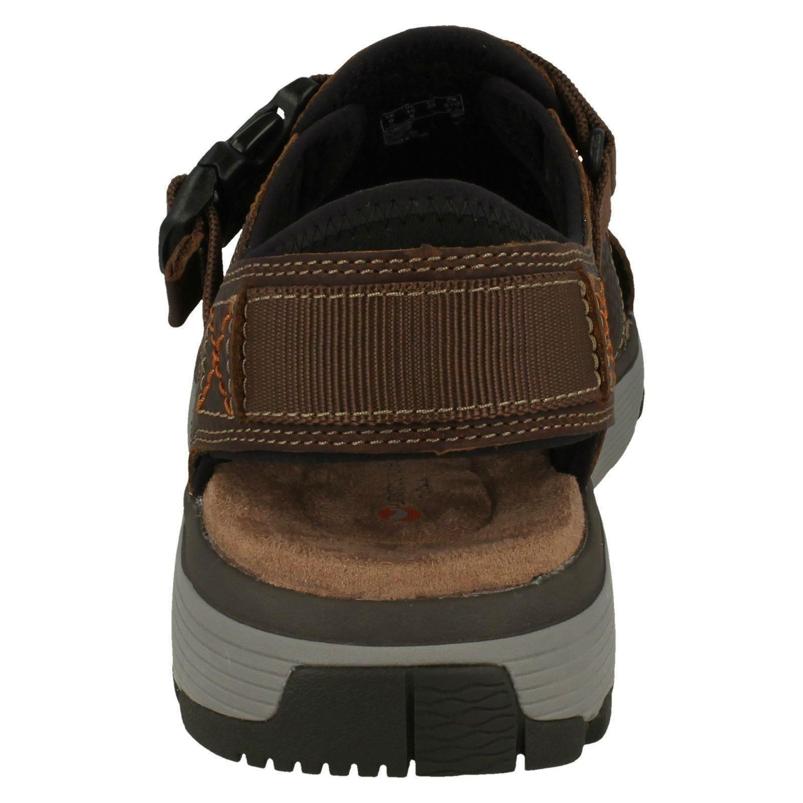 Mens Unstructured by Clarks Leather - Slingback Sandals The Style - Leather Un Trek Cove 5ea2bd