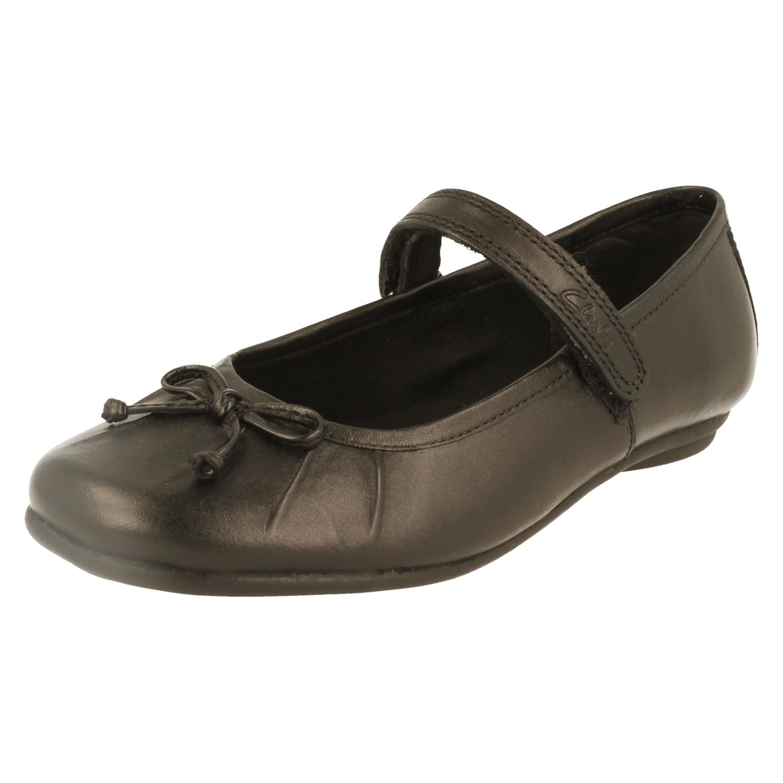 Chicas Clarks school/formal Zapatos Estilo-Tasha aliado