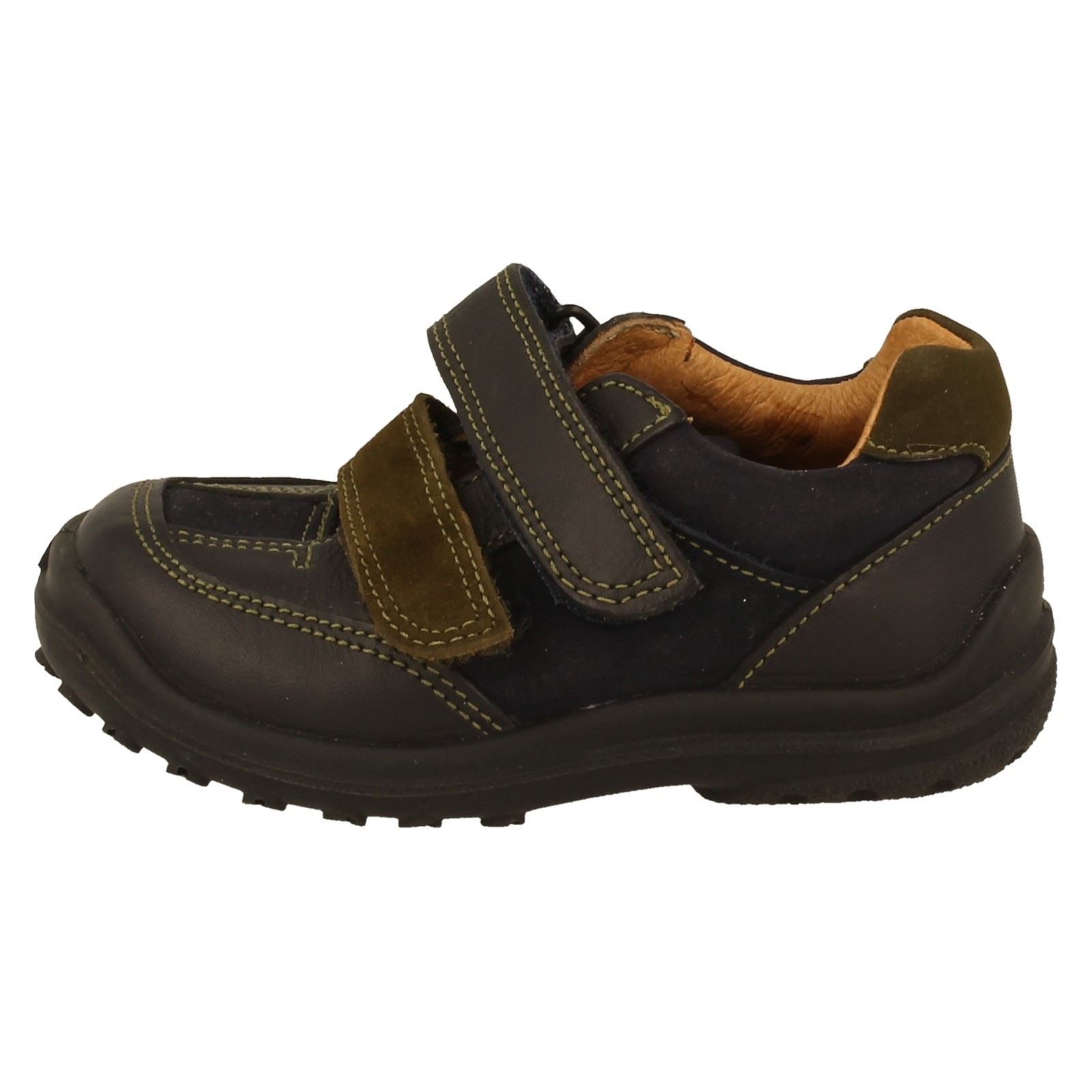 Boys Clarks Casual First Shoes The Style - Flame Thrower