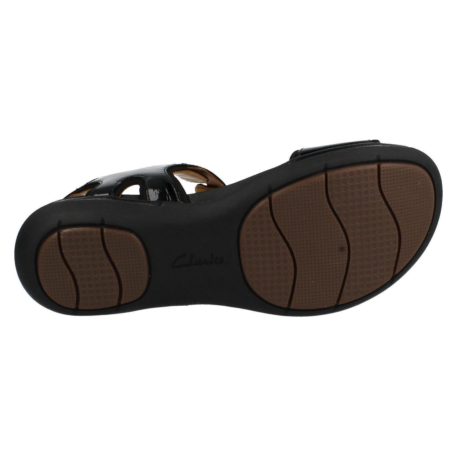 53d40620823 ... Ladies Clarks Unstructured Flat Summer Summer Summer Sandals The Style  - Un Voshell 7d73c3 ...
