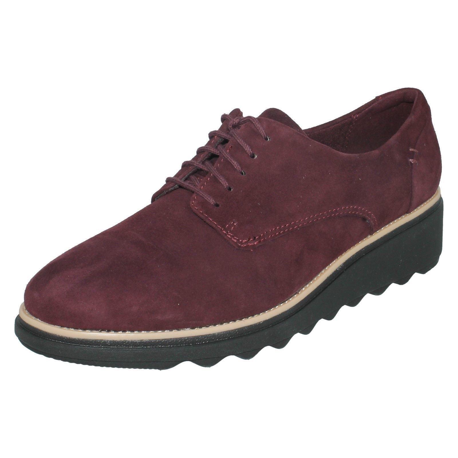 Sandalo Sandalo Sandalo Donna Clarks Con Lacci Scarpe Noel Casual in Pelle Sharon   d0b532