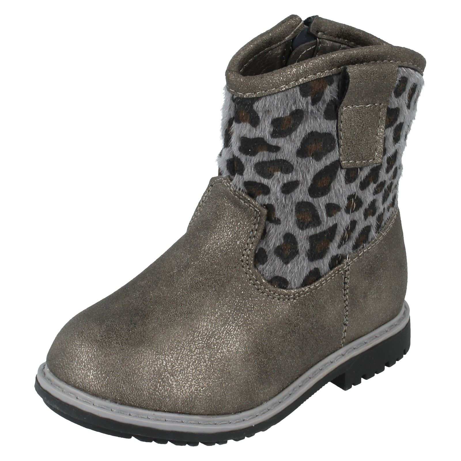 Girls Spot On Boots Infant Style - H4110