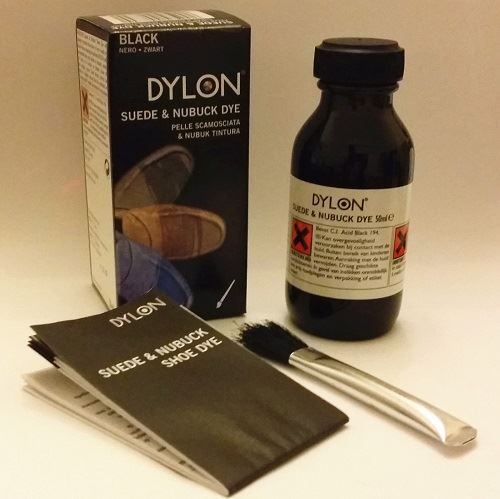 Dylon Suede And Nubuck Shoe Dye Brown