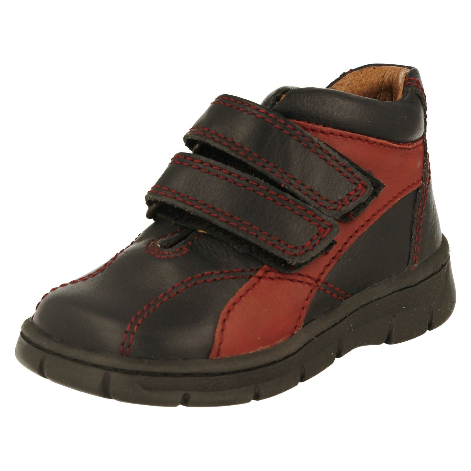 Boys Start Rite Ankle Boots Label Truck -W