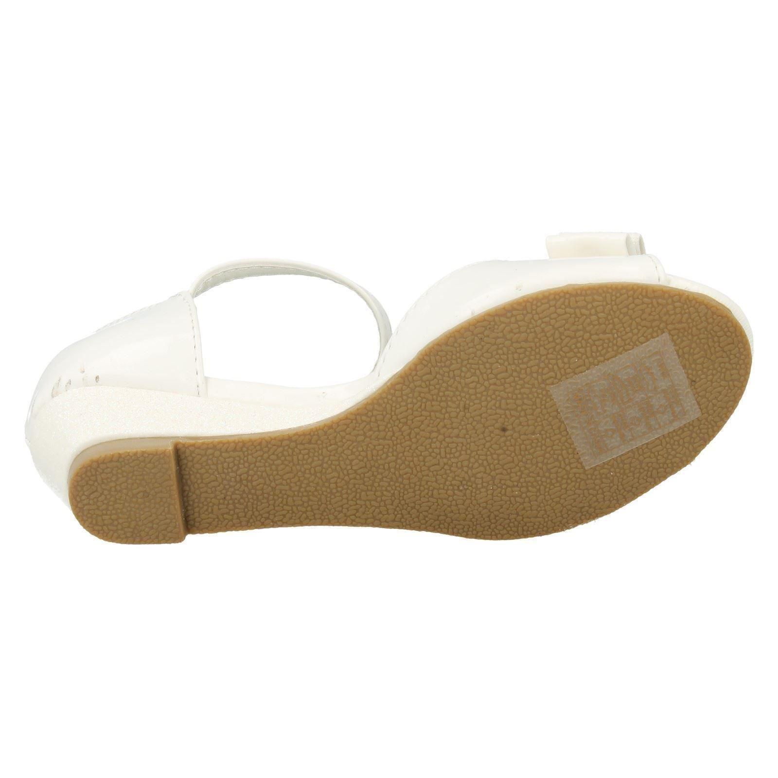 Las niñas en el clavo Sandalias Con Detalle De Moño Etiqueta h1077