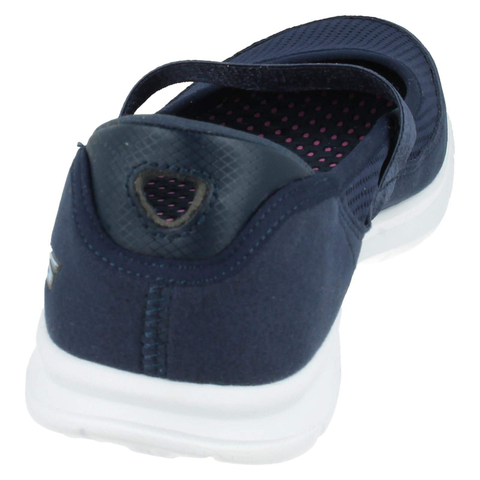 Label 14213 Casual Navy Original Skechers Shoes Step Ladies nvlb Go 6fqZYZ