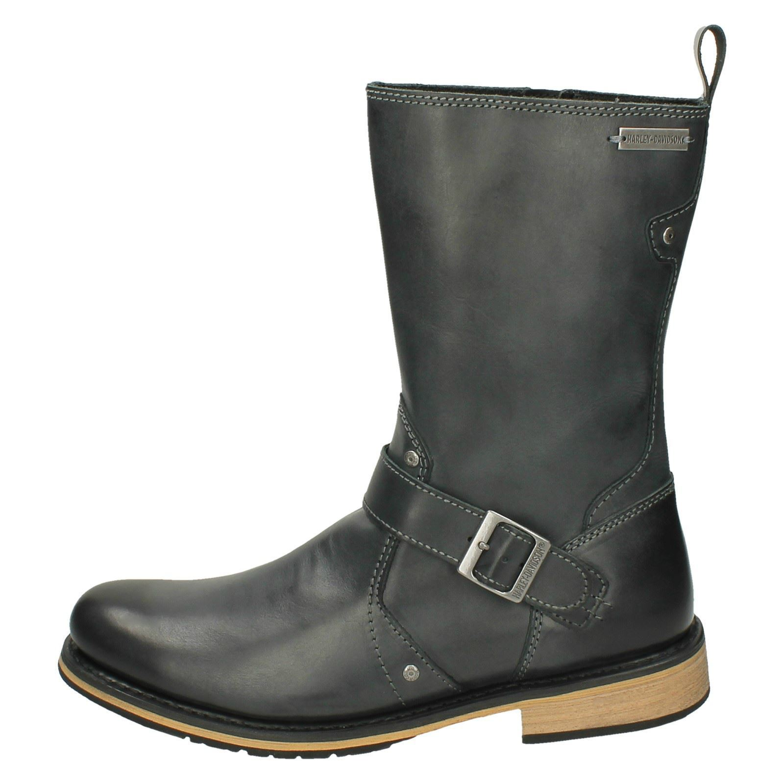 Justin Reece Reece Justin Barton Men Leather Matt Brown Ankle Boots Size f40b39