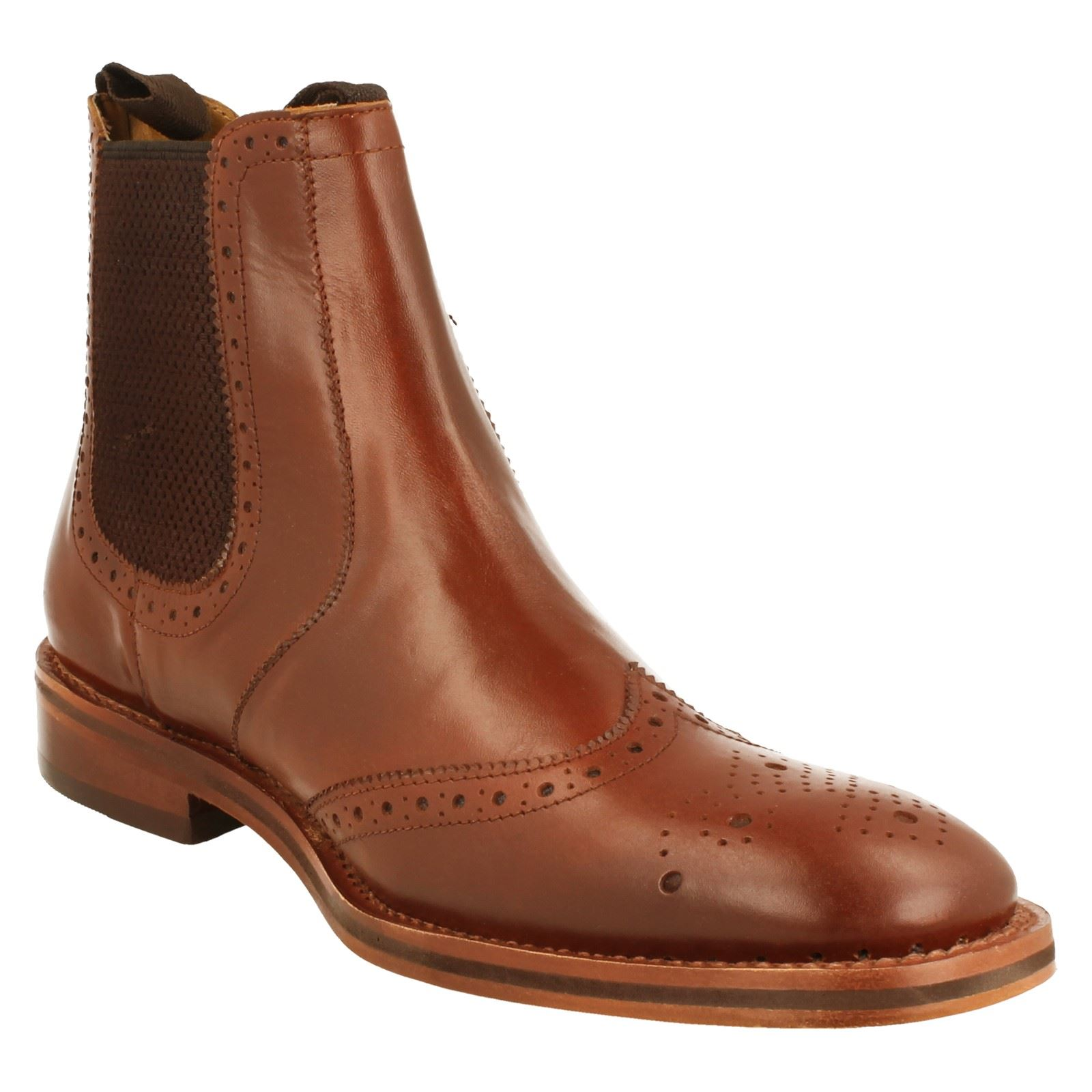 Brogue  Herren Catesby Brogue  Pull On Ankle Boot Style MCATESCW158  N cc9931