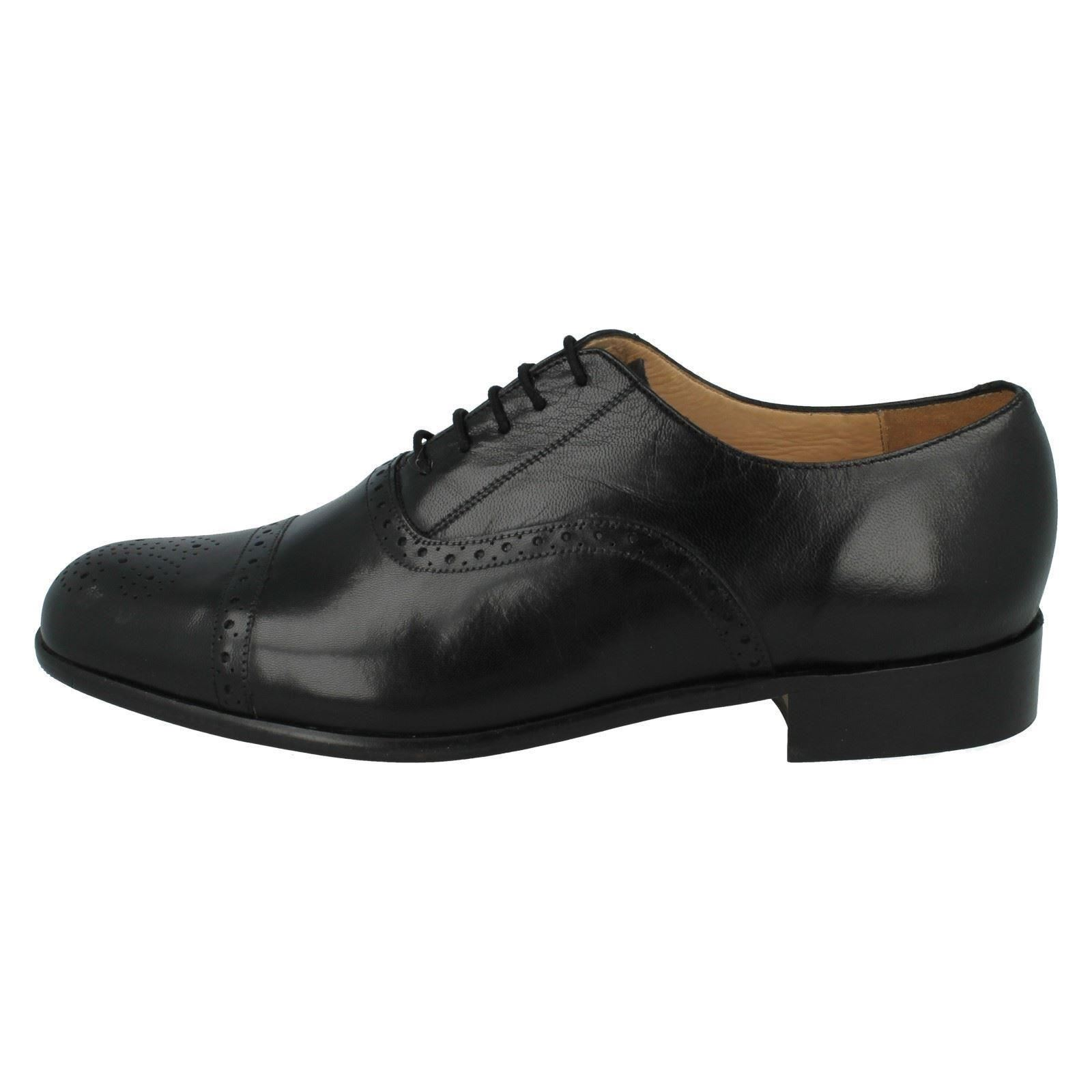 Pancras Formal Black 35021 Mens Fitting Grenson St 01 G Brogues Leather AqR0UR4w