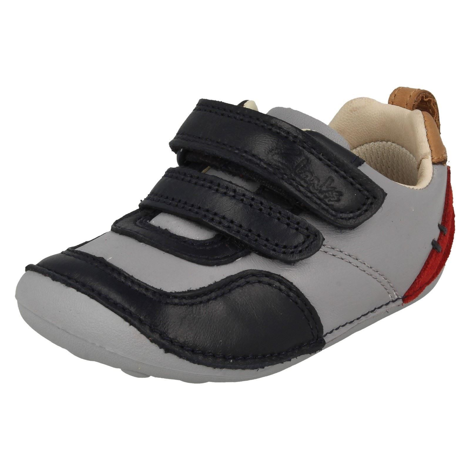 Boys Clarks First Shoes Tiny Cap