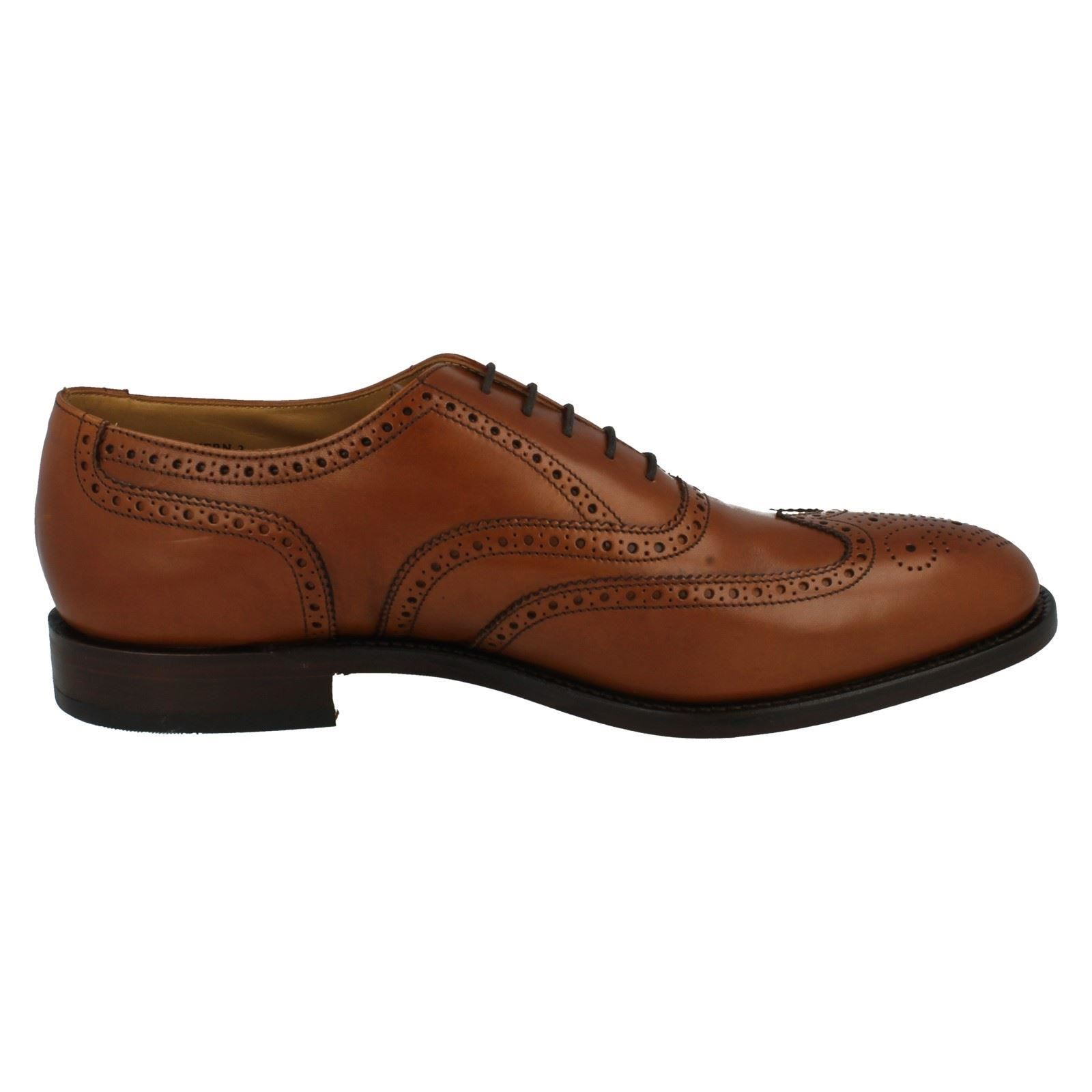 Mens Formal Loake Formal Mens Leder Brogue Schuhes Severn2 8b40d1