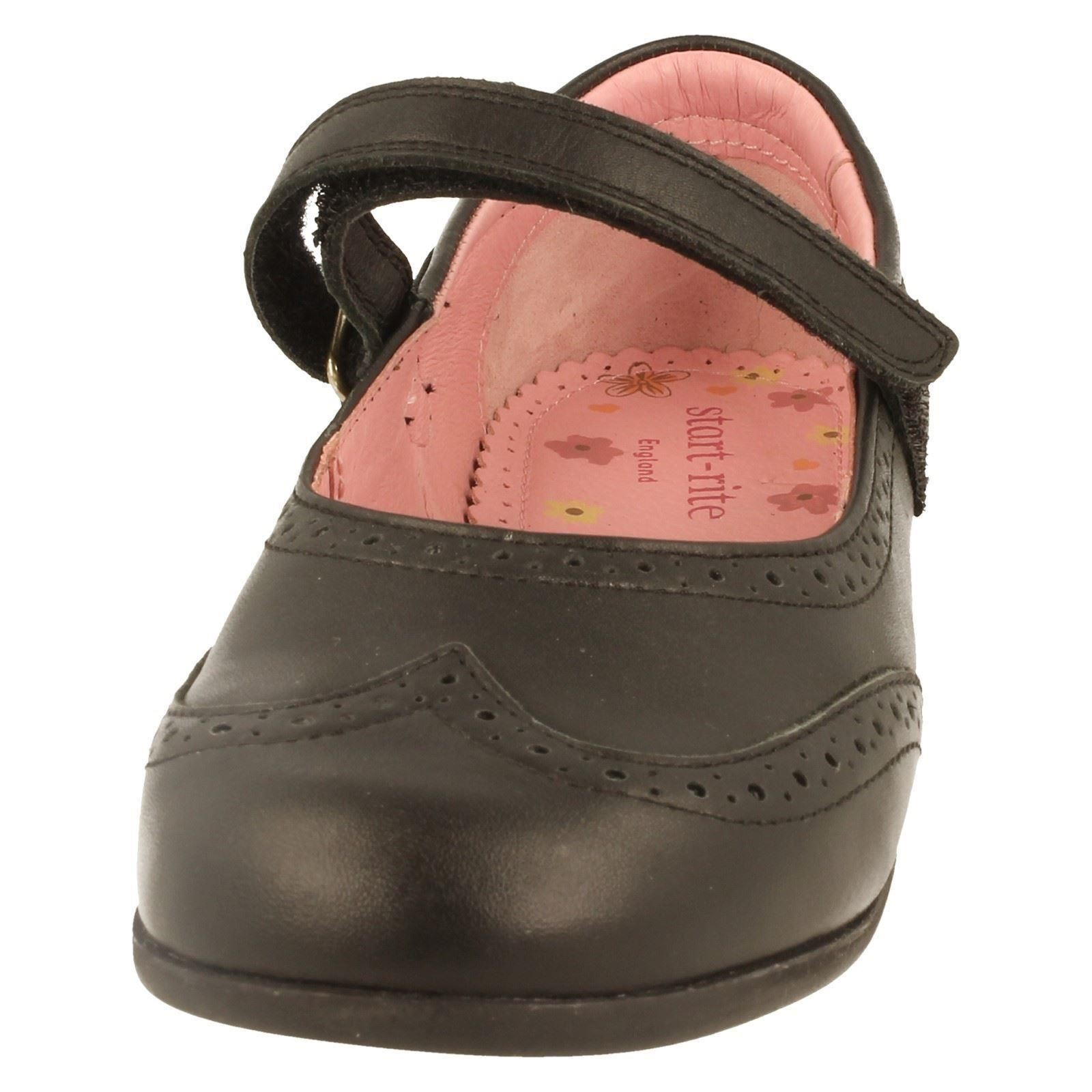 Chicas START Rite Mary Jane Zapatos Escolares, Ala-W