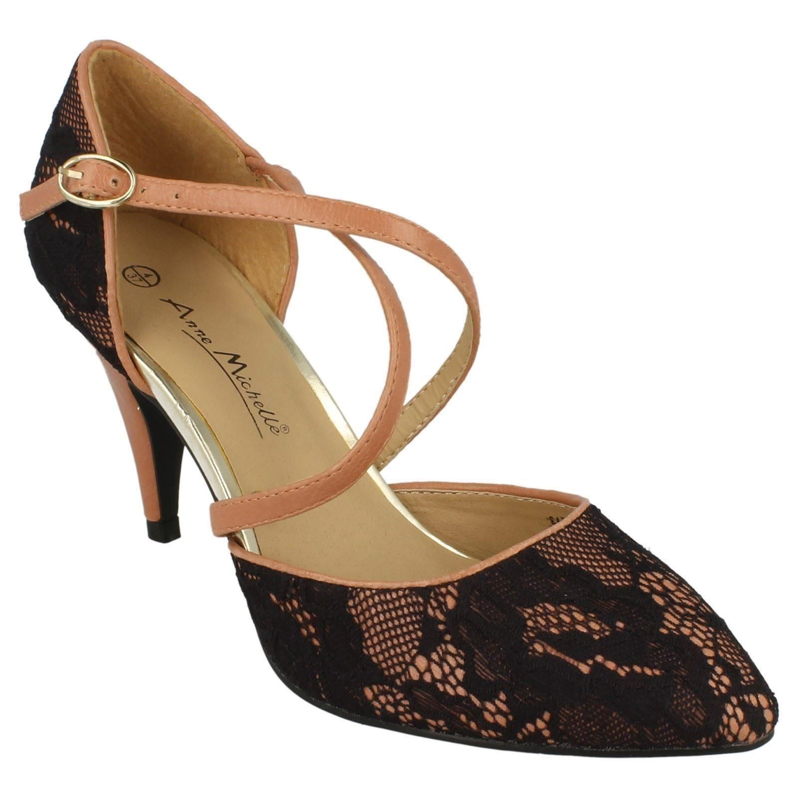Ladies Anne Michelle L2273 Lace Court Shoes Style ~ K