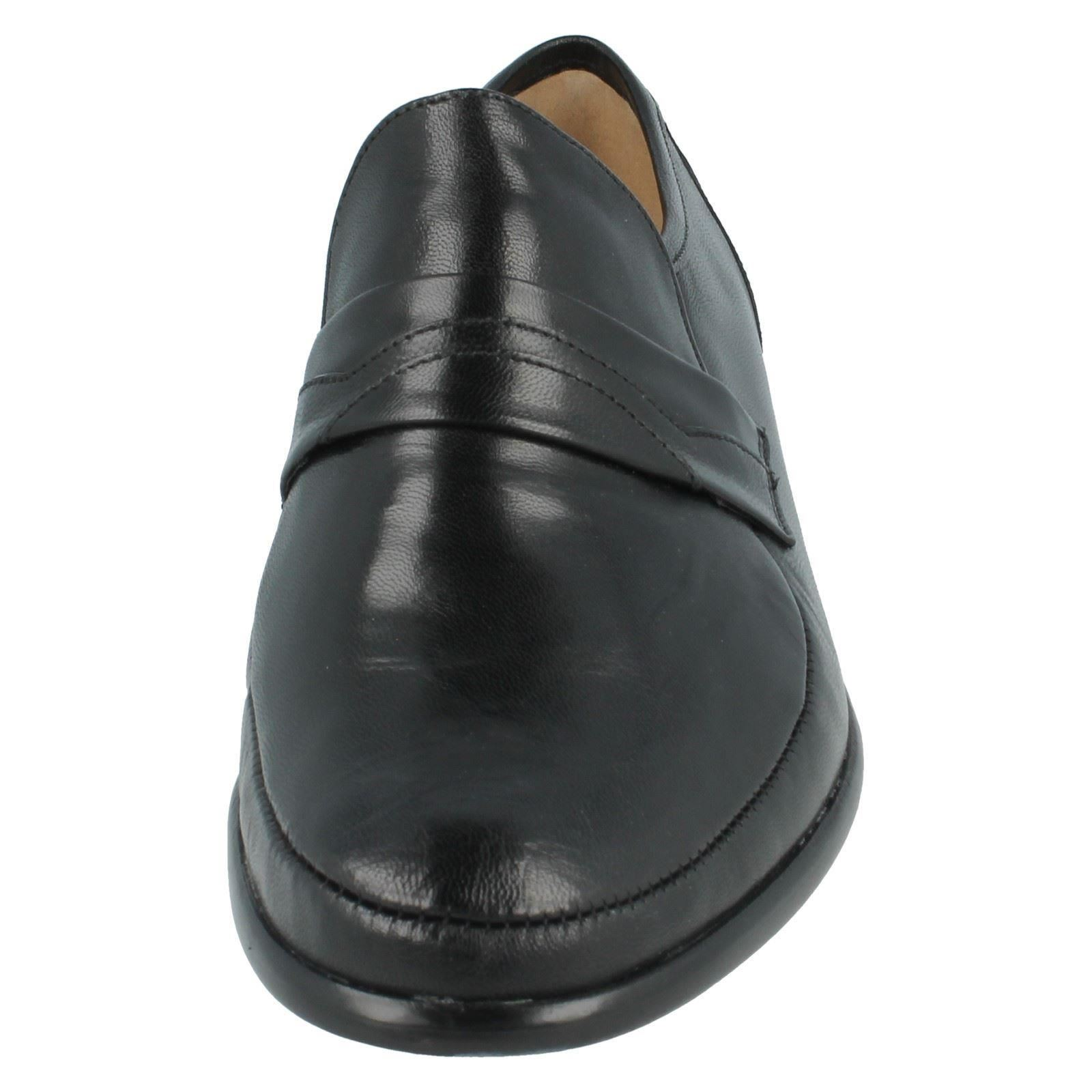 Fit 35022 Formal Mens G Shoes On Slip Swindon Black Grenson Leather qFfwI