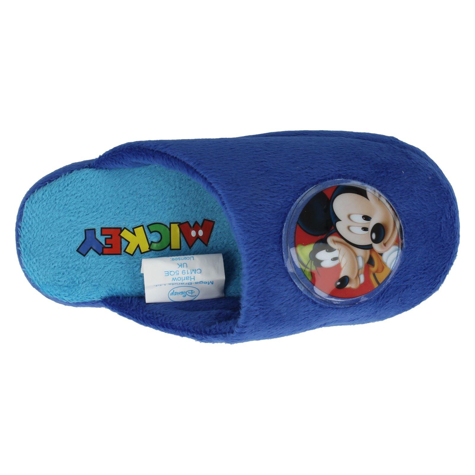 Niños Disney Mickey Mouse Zapatillas wd8124