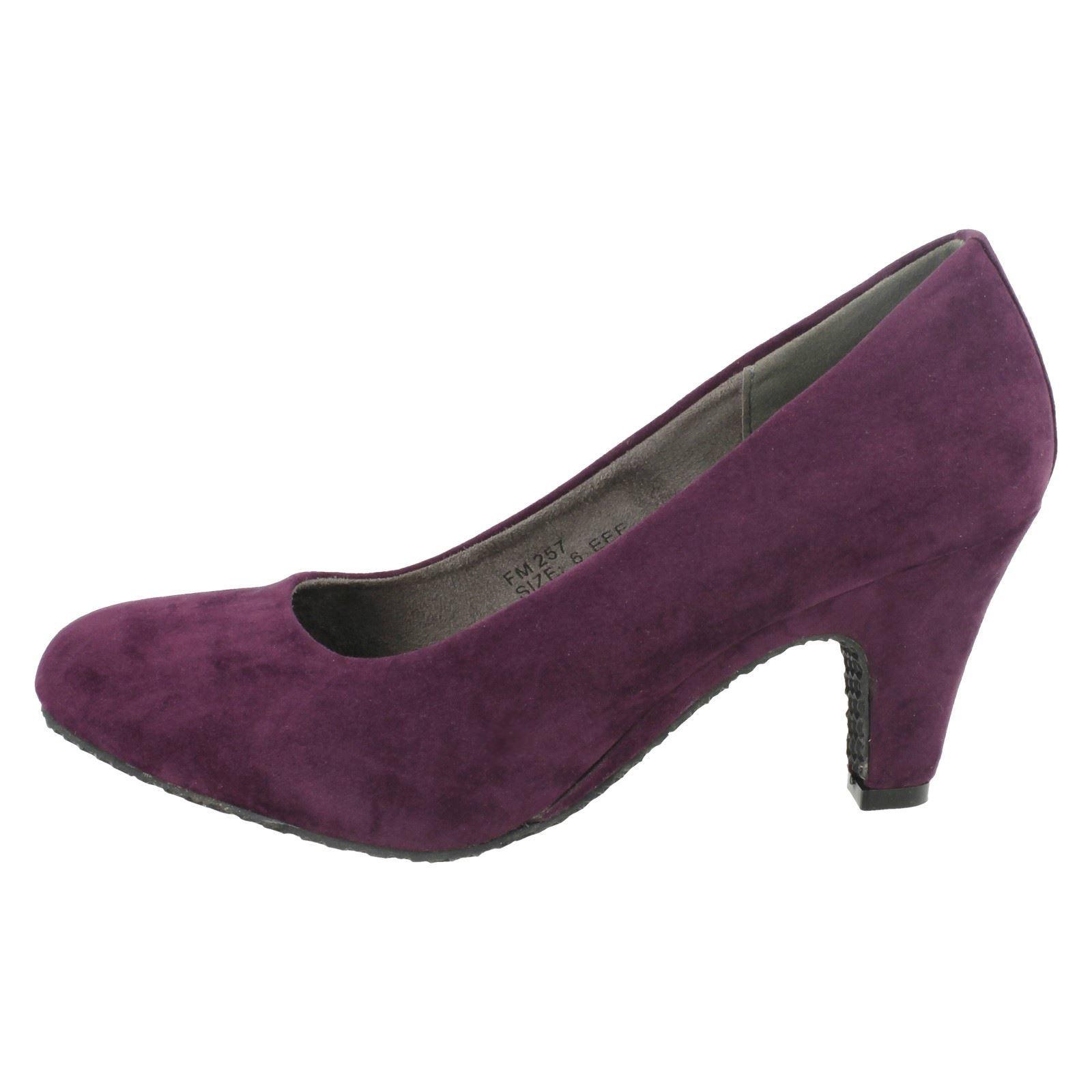 Pie señoras Flex Formal Zapatos Tribunal el estilo-FM257