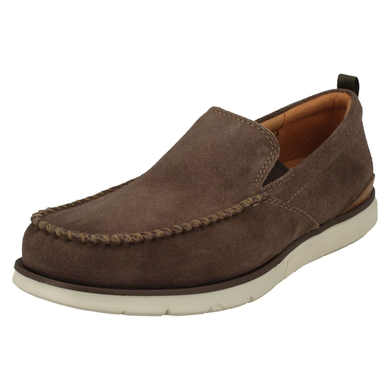 Men's Clarks Casual Slip On Shoes The The The Style - Edgewood Step cd6b3d