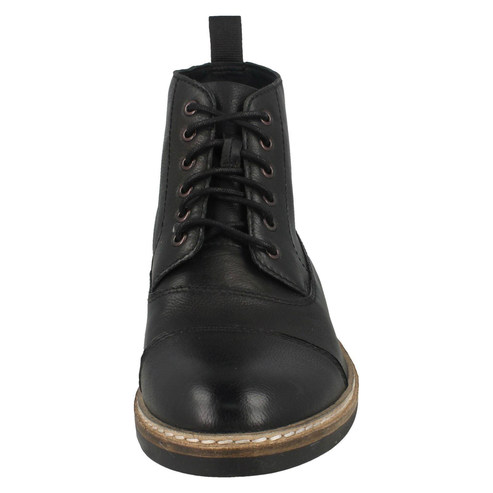 Blackford Clarks eleganti da uomo Etichetta Black Cap stringhe con Leather wp1XOqY