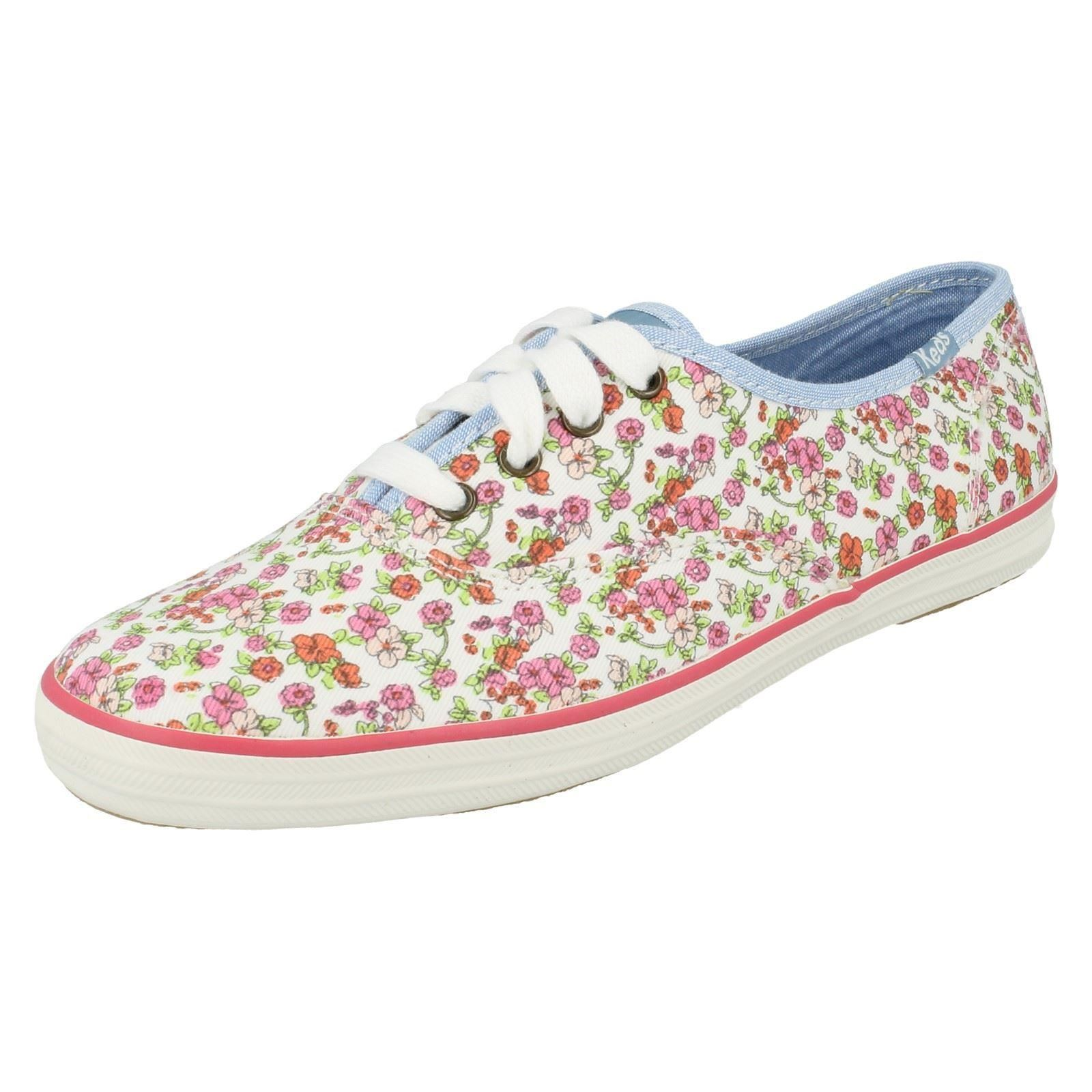 WOMENS CANVAS SHOES 7UK PINK (ORIGINAL)