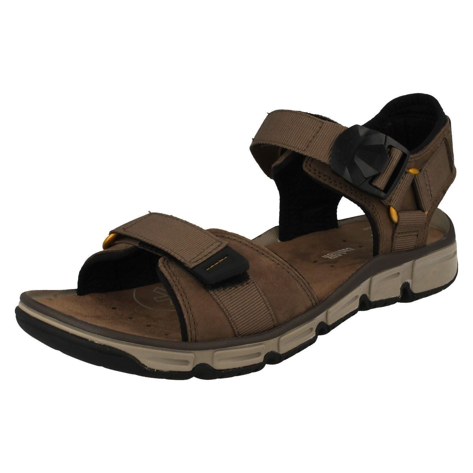 be7b9122984 Mens Clarks Explore Part Nubuck Leather Casual Sandals G Fitting UK 13  Mushroom. About this product. Picture 1 of 7  Picture 2 of 7 ...
