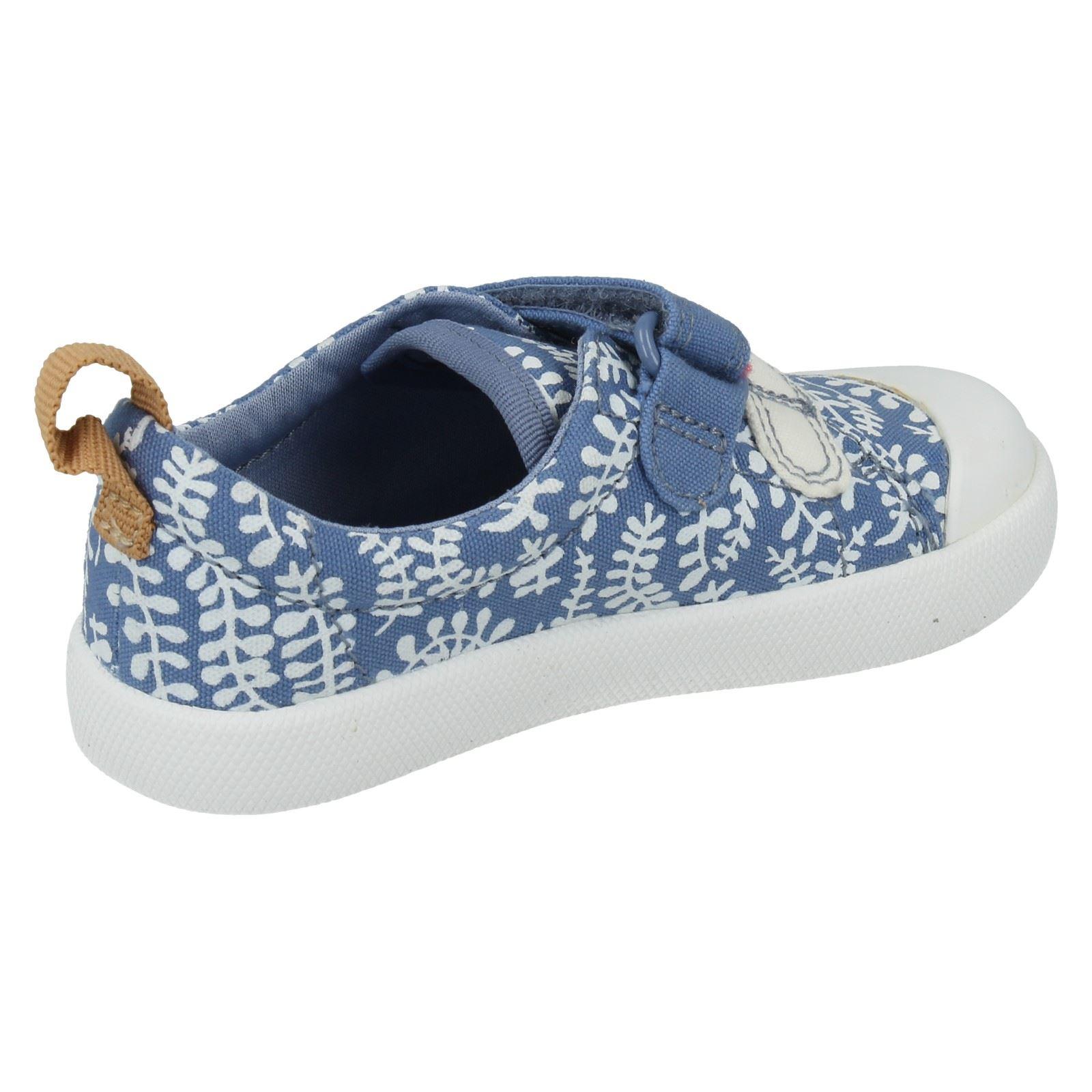 Chicas Clarks Doodles primero Zapatos Estilo-Halcy Hati