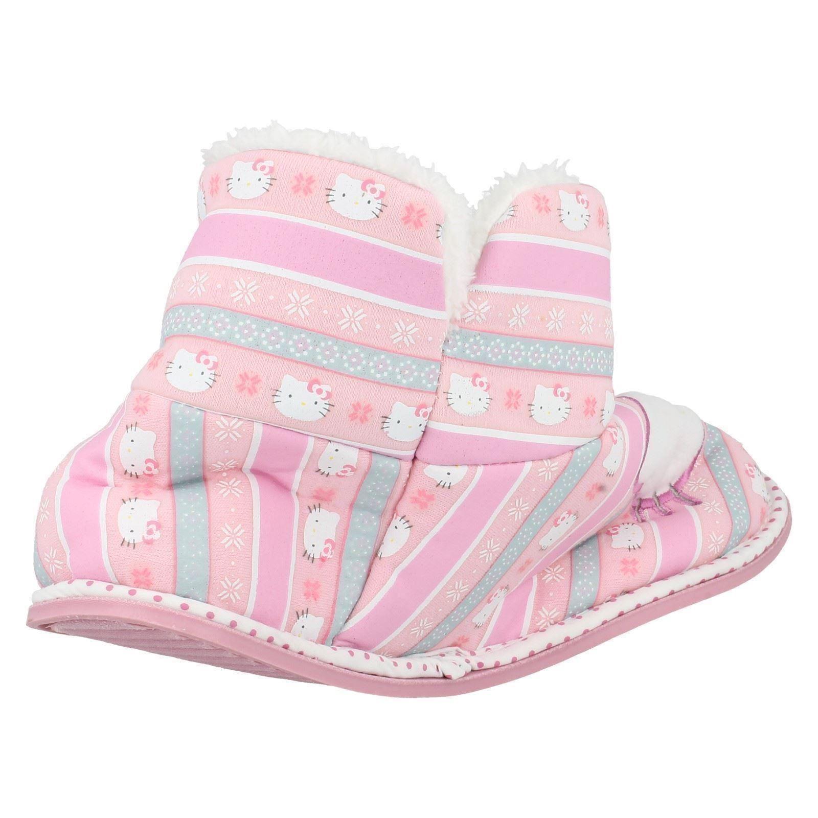Girls Hello Kitty Slipper Boots 320 / 3193