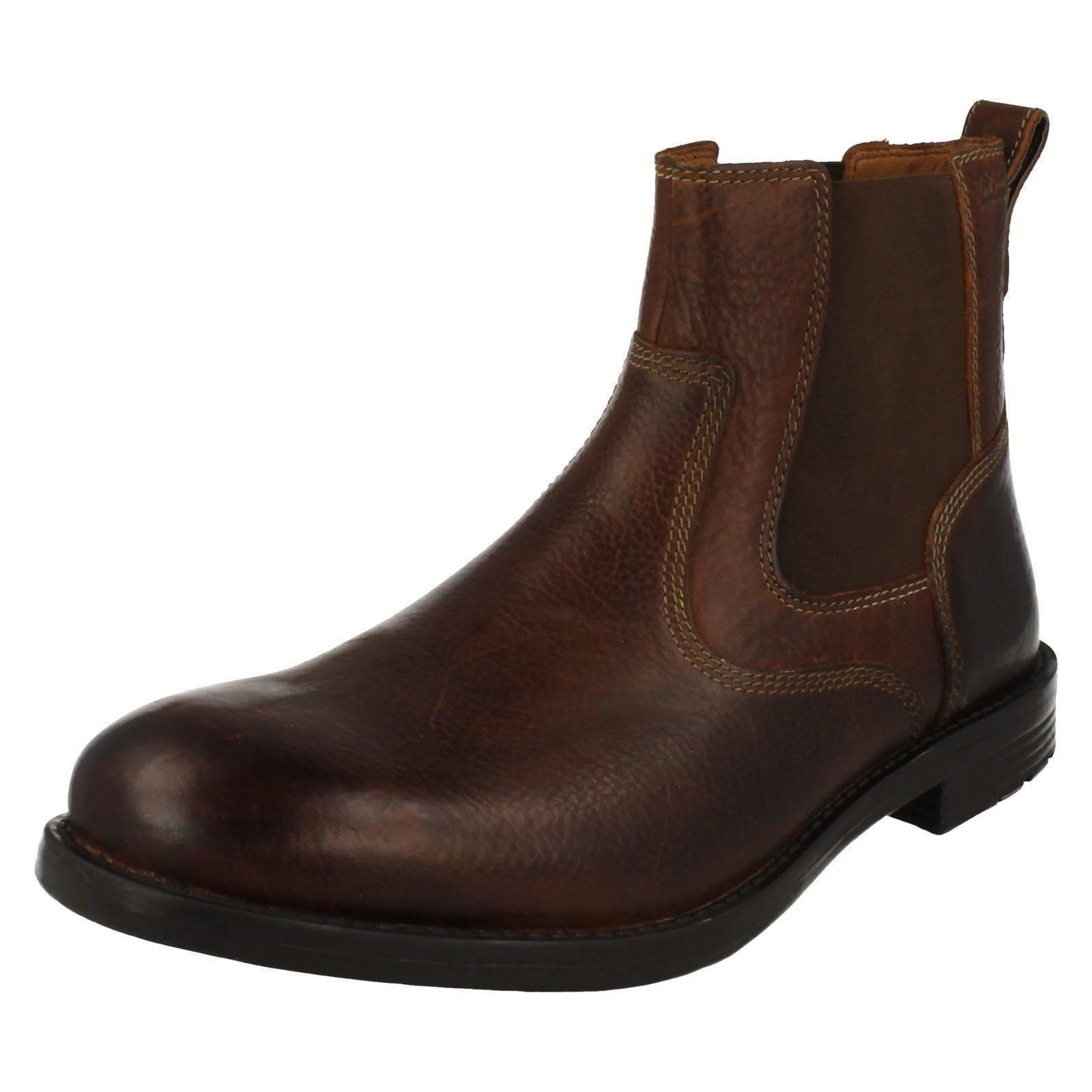 Men's Clarks Casual Pull On Boots The Style - Faulkner On
