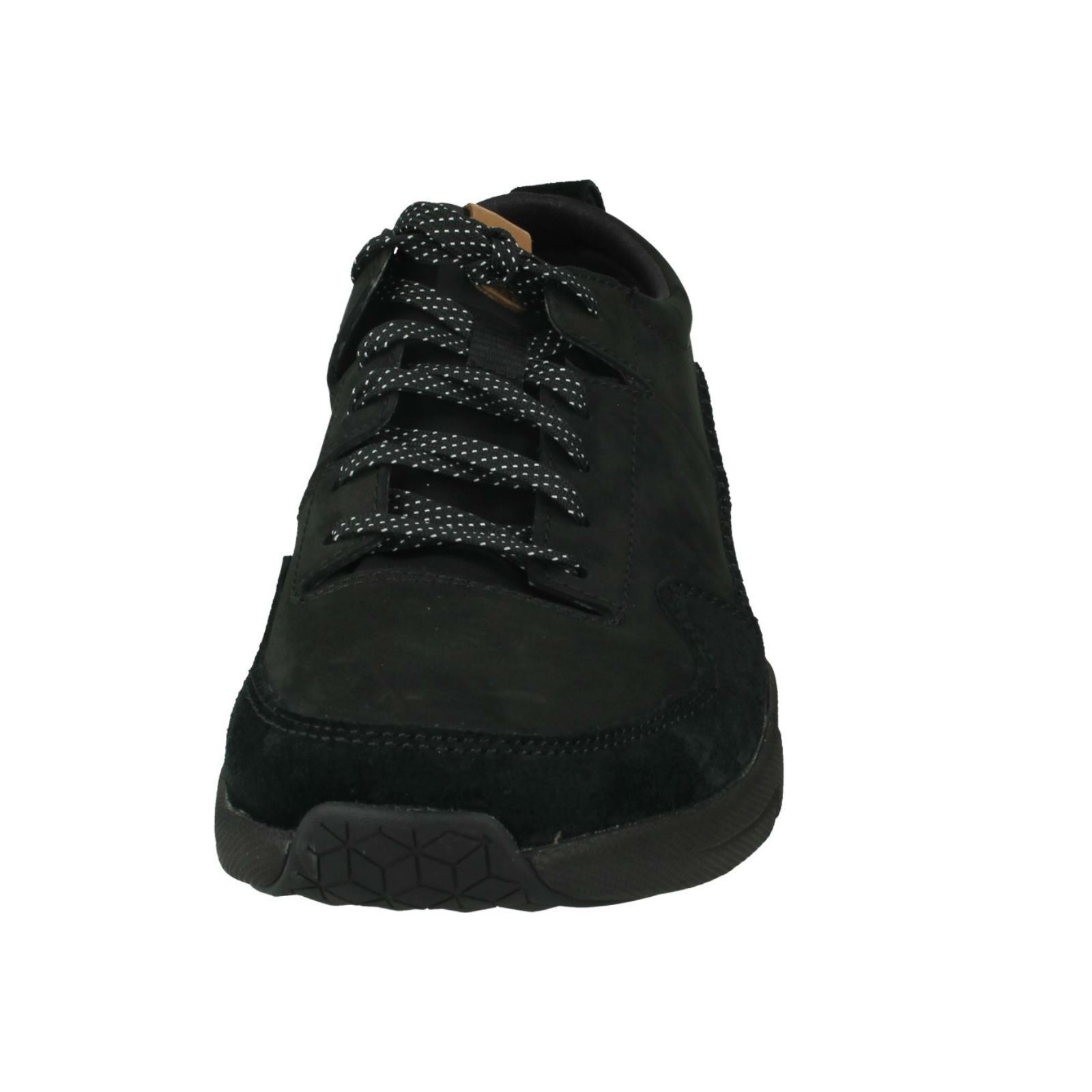 Ladies Ladies Ladies Clarks Leather Lace Up Casual Trainers Label - Tri Active Run d74fe4