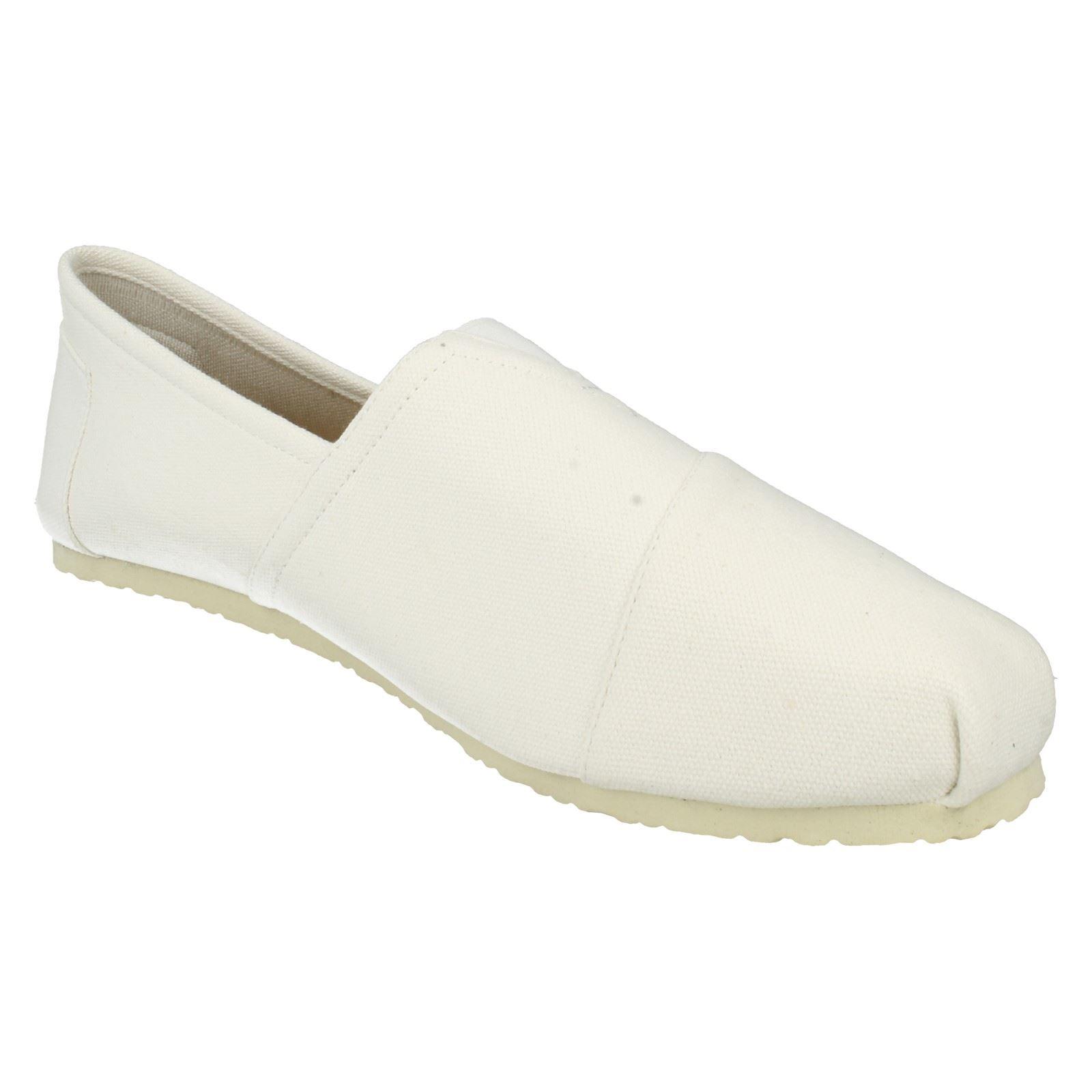 Para hombre de punto En Lona Zapatos Estilo-A1078