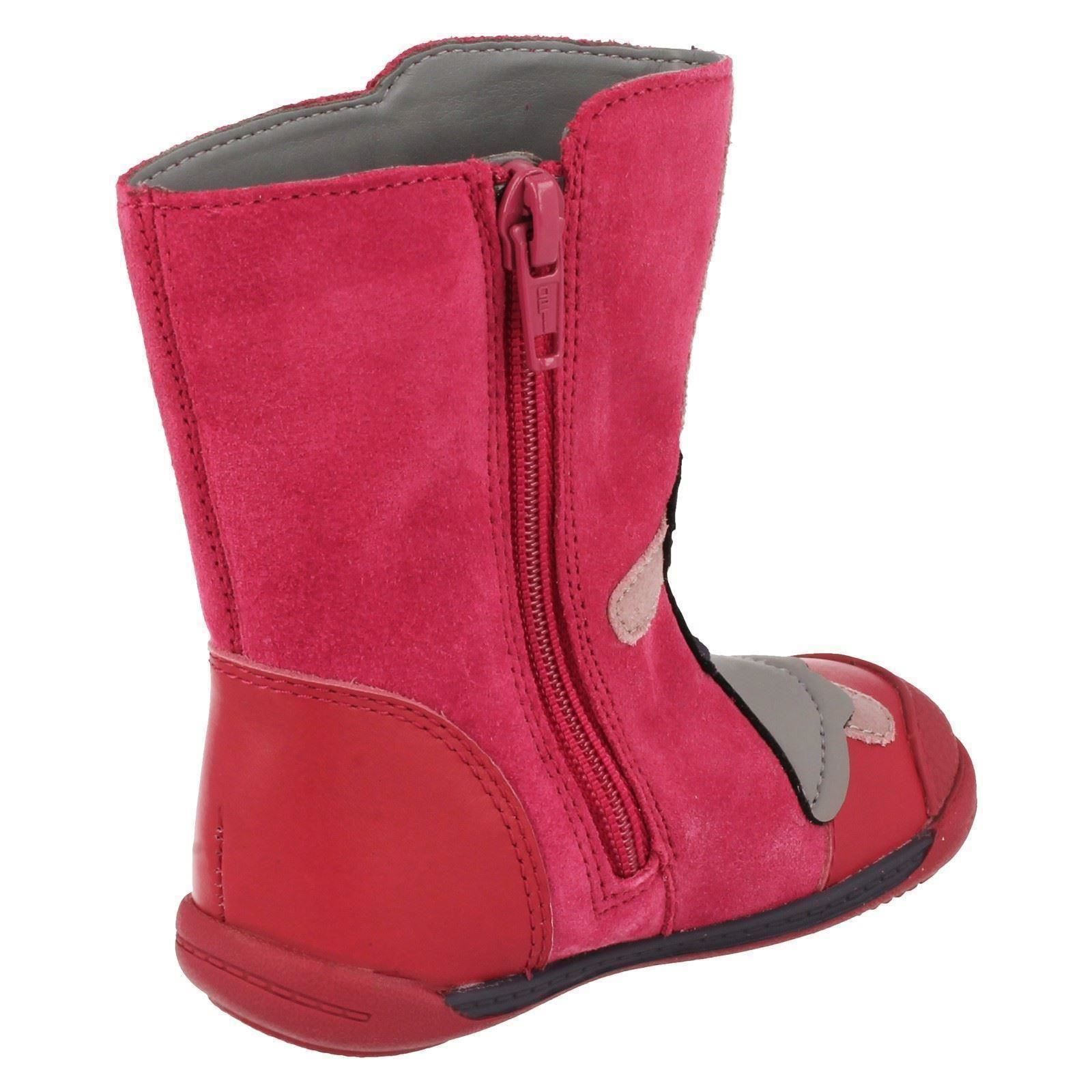 Girls-Infant-Clarks-Casual-Boots-Style-Iva-Friend-Fst