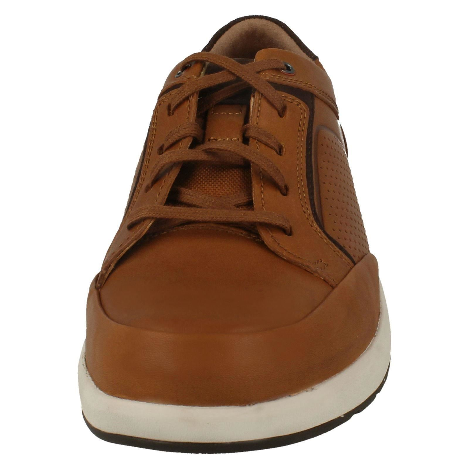 Form Mens Up Lace Clarks Da Casual Leather Style Un Trail Unstructured Tan zgzqpB