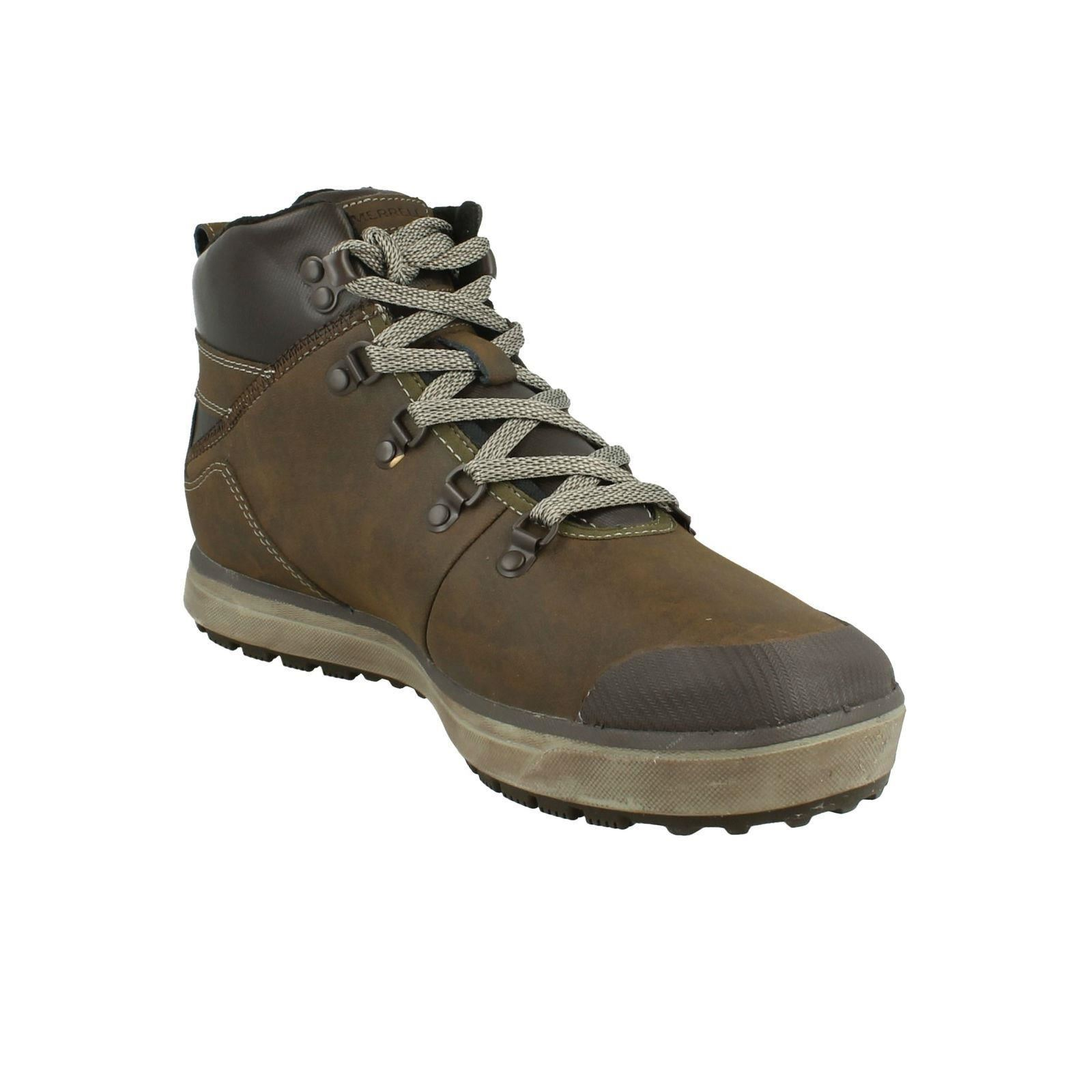 Herren Merrell Turku Trek Waterproof Mid Mid Mid Hiking Walking Stiefel- Label J23627 133608