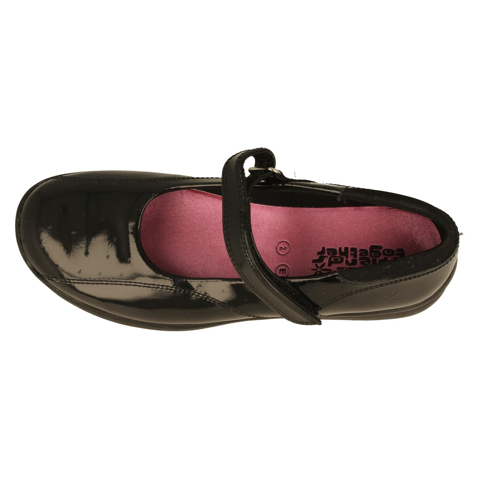 Girls Clarks Mary Jane School Shoes Chatter -W