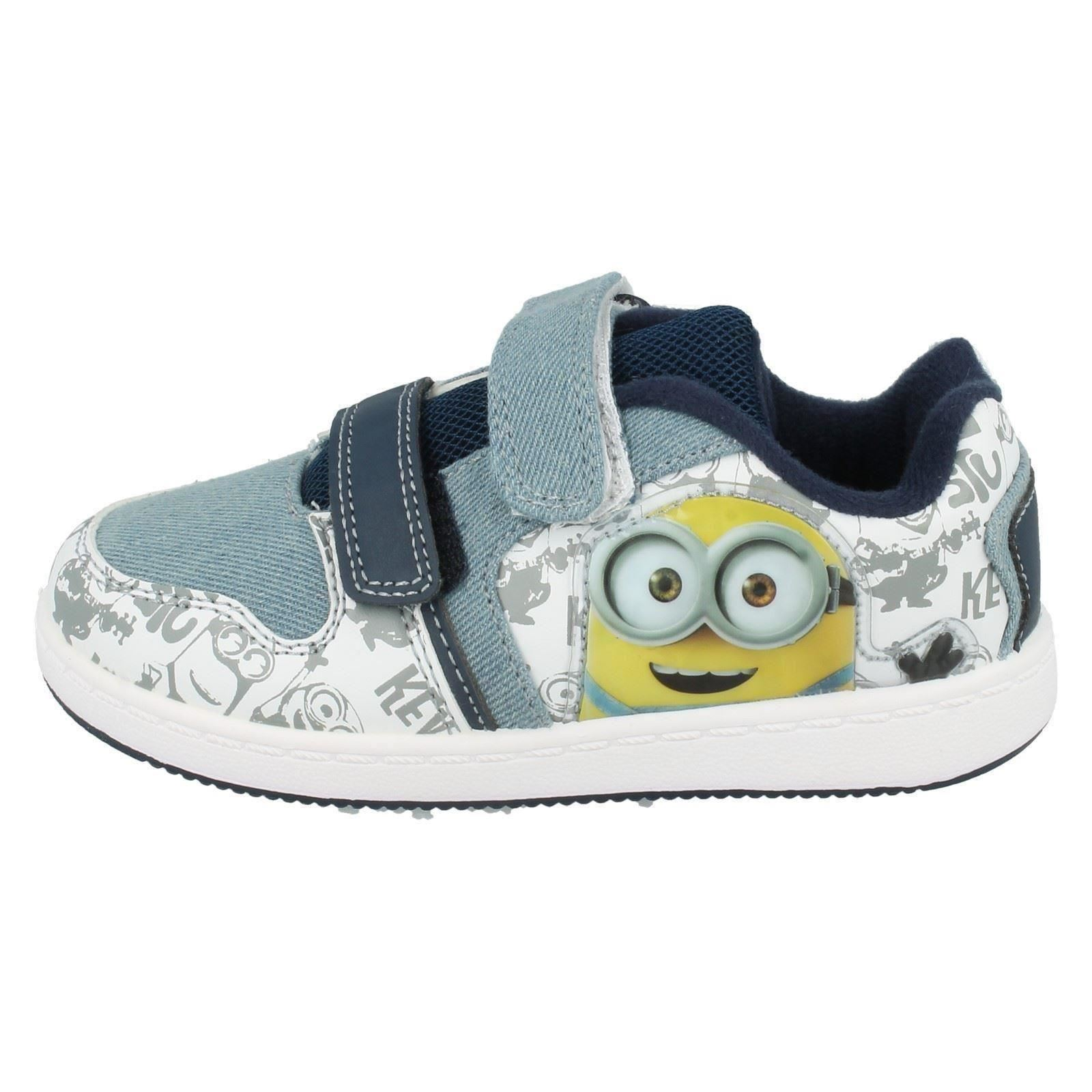Boys Minions Trainers Weddell Skate