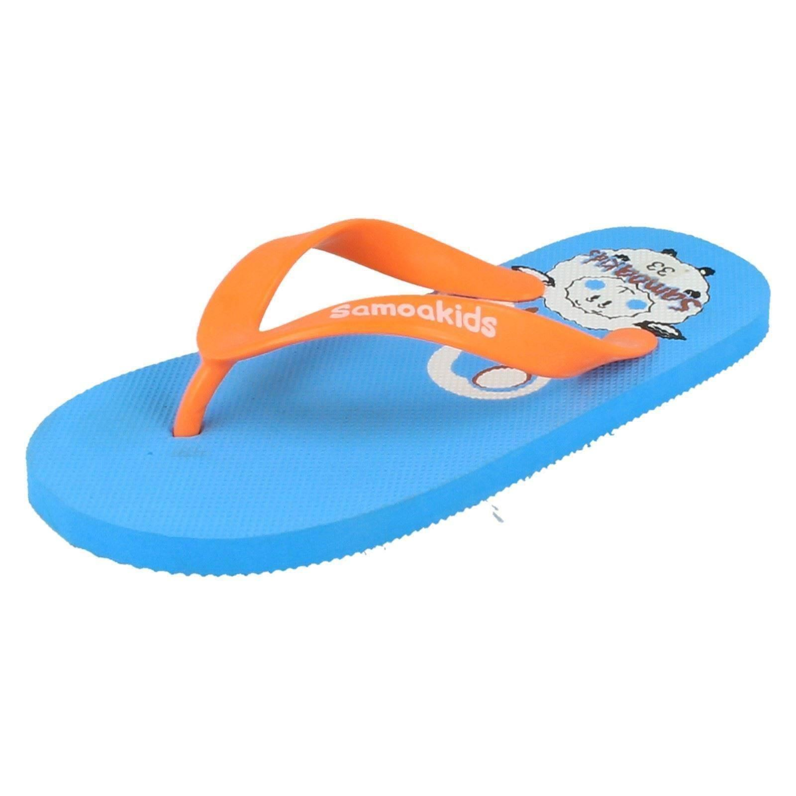 Childrens Samoa Toe Post Flip Flops - The Style Rachel ~ N