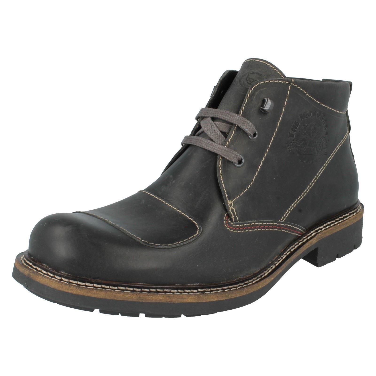Mens Mens Mens Base London Lace Up Ankle Boots Stroke 2e6141