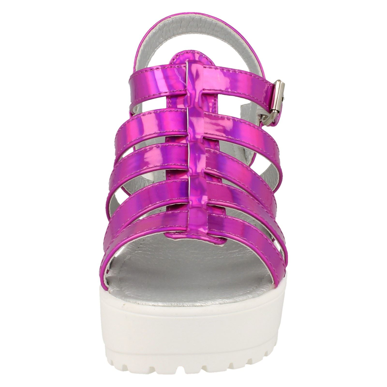 Girls Spot On Sandals H1067 Label ~ K