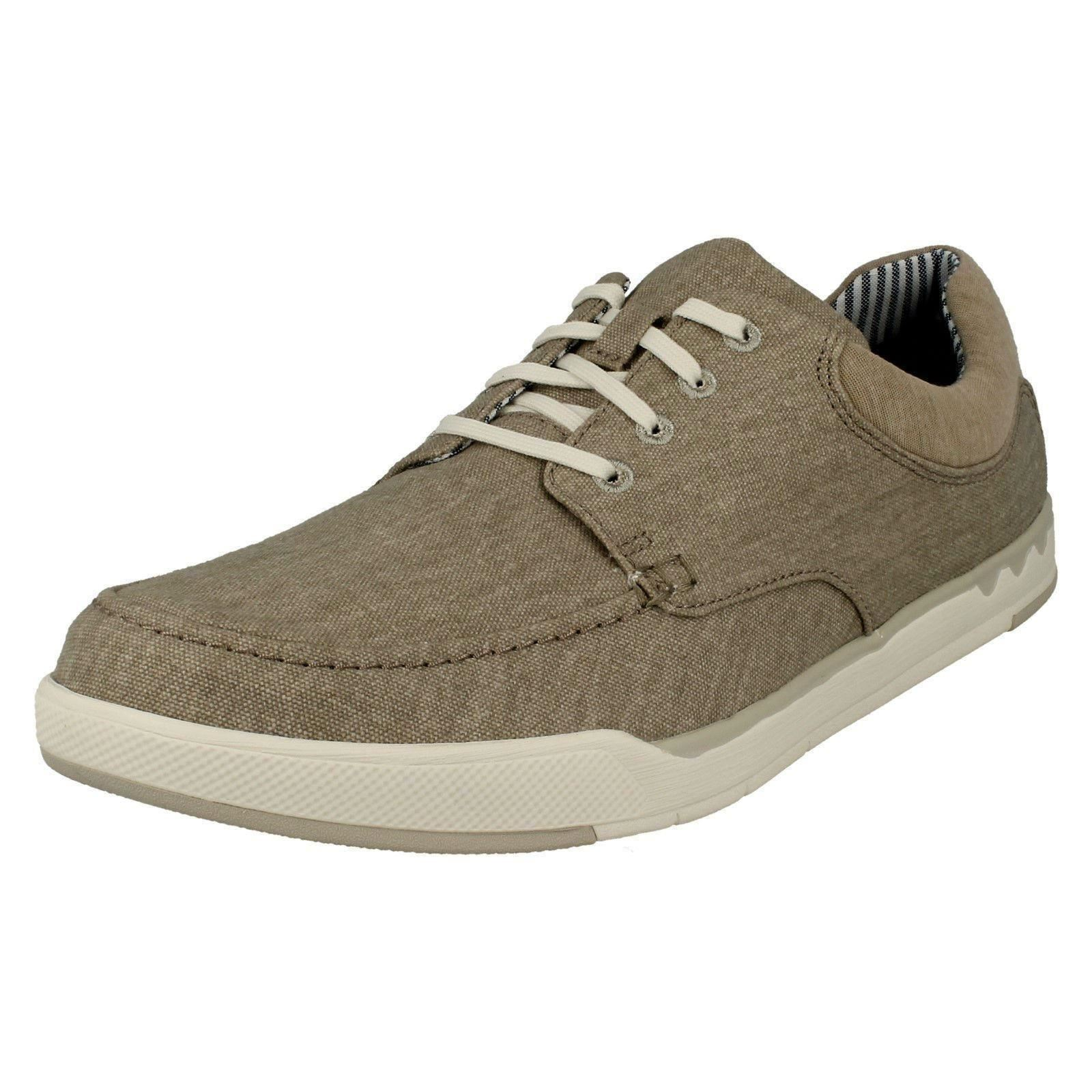 Men's Cloud Steppers by Shoes Lace Up Casual Canvas Shoes by Style - Step Isle Lace 520c4e