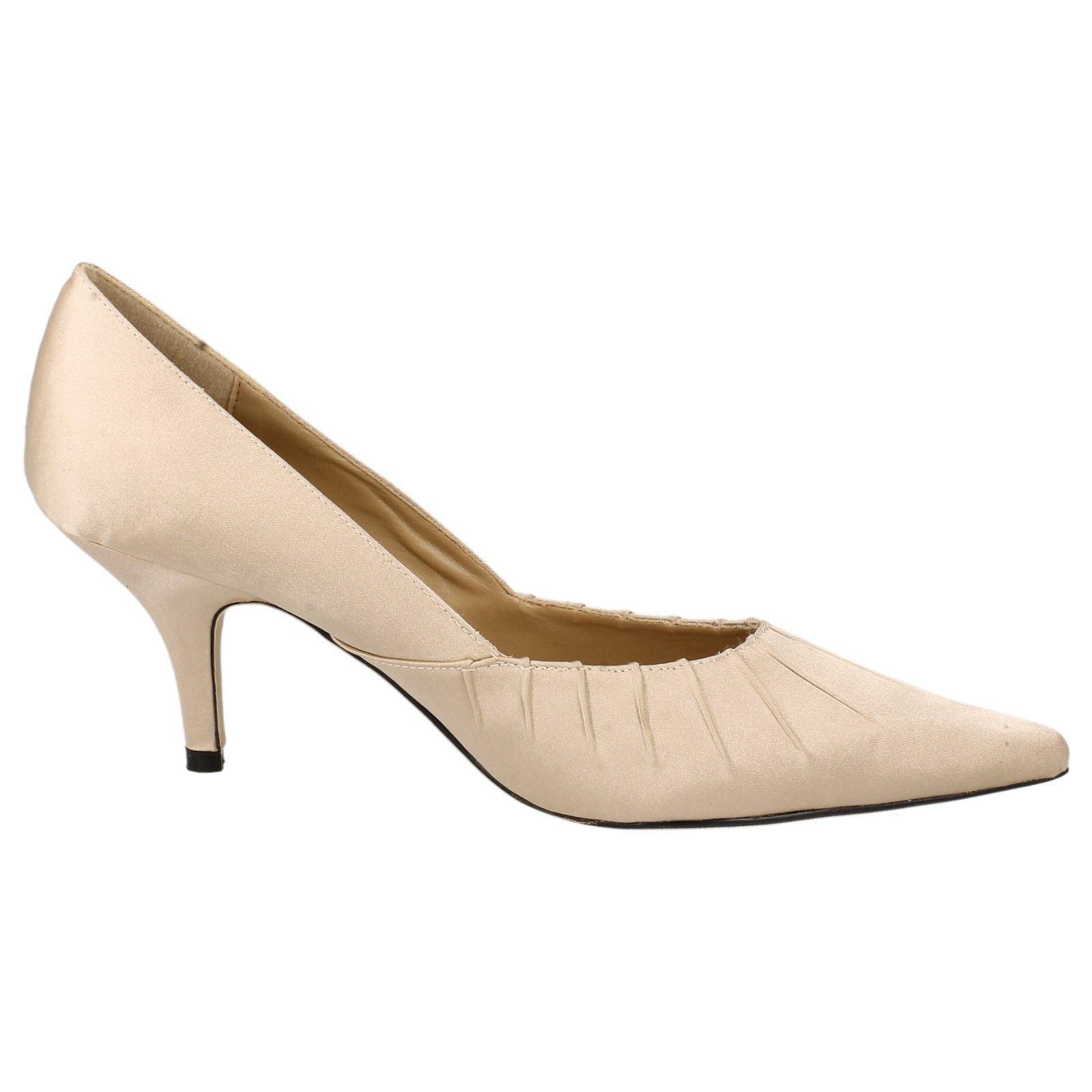Zapatos señoras de punto en señaló estilo F6004 ~ N