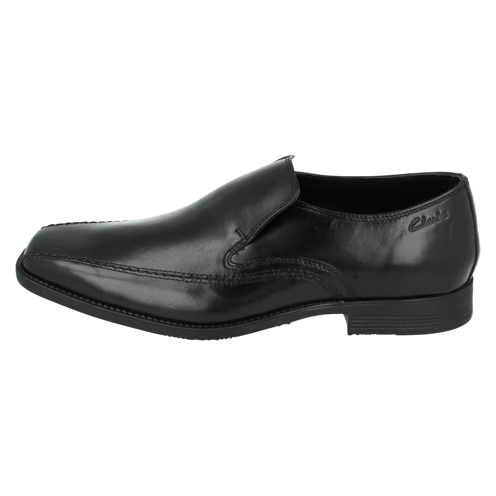 Men's Clarks Formal Slip On Out Schuhes - Acre Out On a14c74