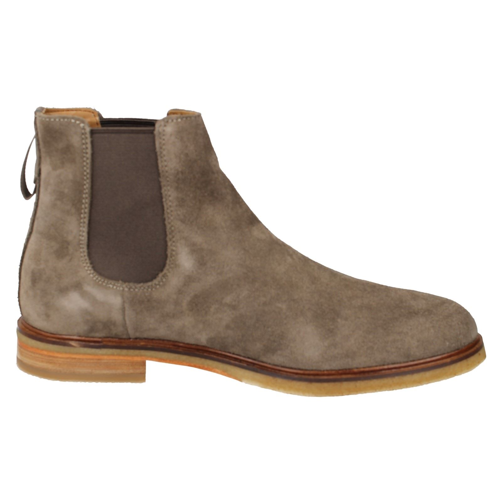 Hombres Clarks Chelsea Ankle Pull On botas Clarkdale Clarkdale Clarkdale Gobi 482c5e