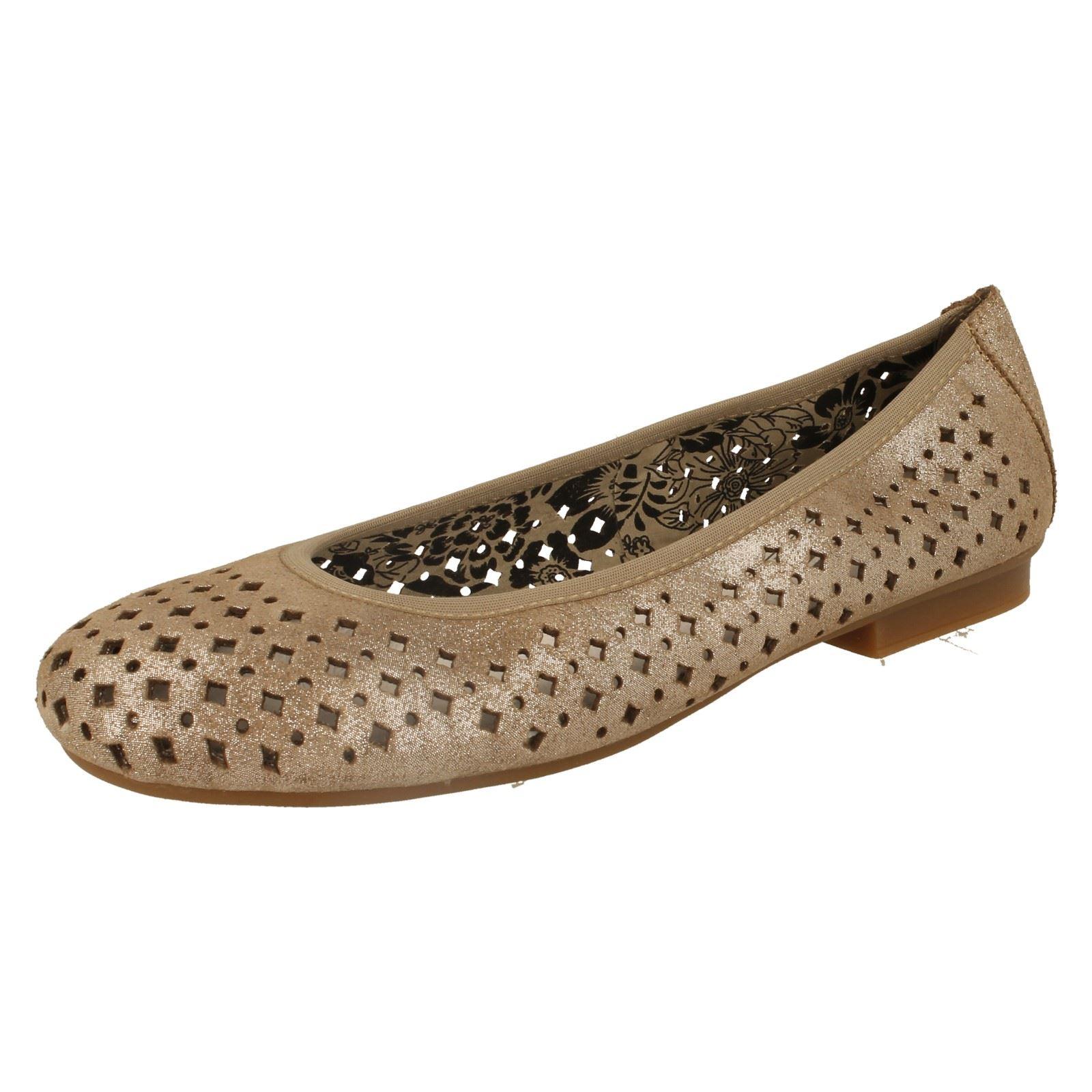 Ballerina Rieker 43457 42 Ladies Grau Leder Damens's Schuhes Schuhes Damens's ae9b2d